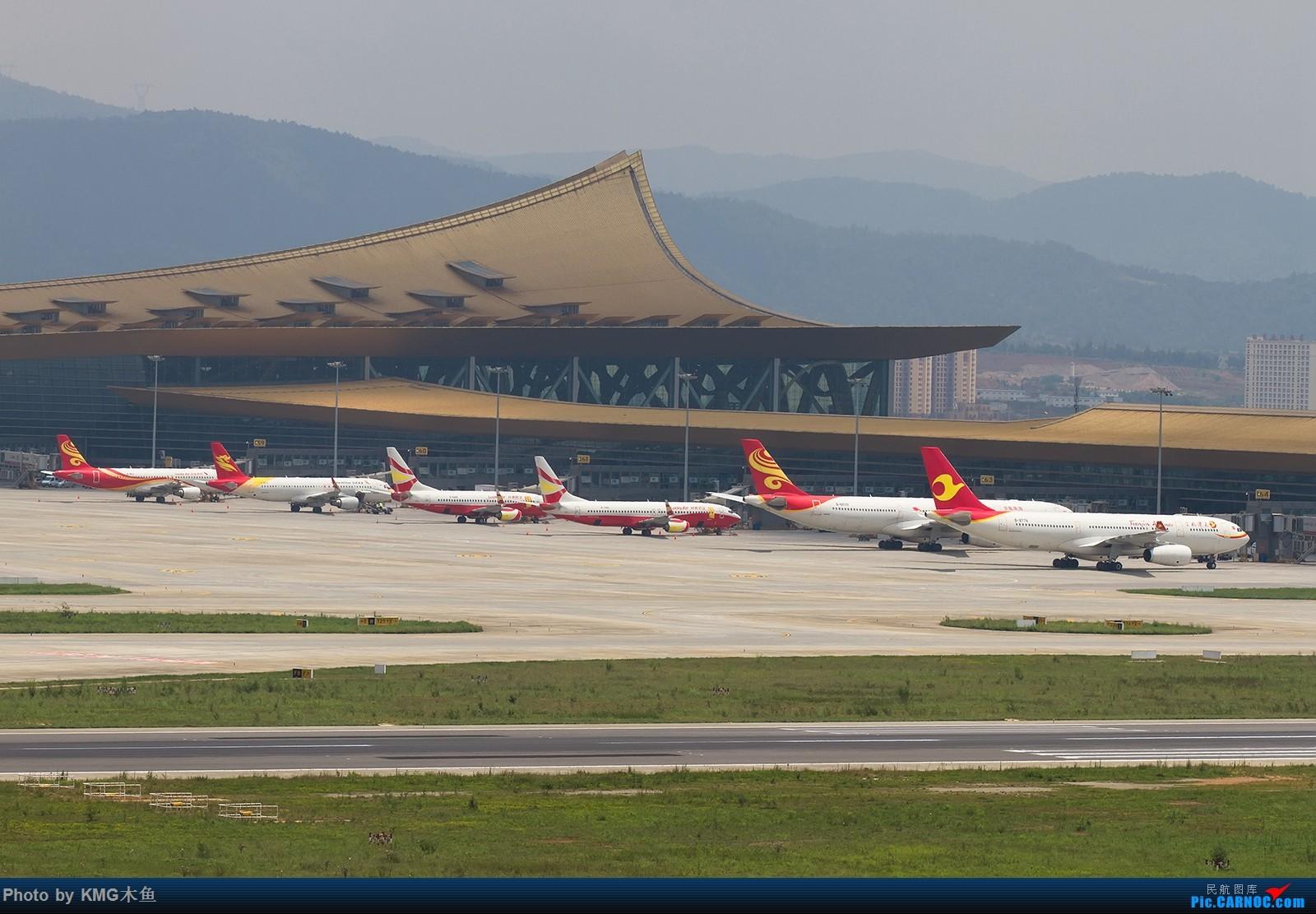 [原创]【昆明长水国际机场——KMG木鱼拍机】第一次大中午的拍飞机,还好宽体比较多,也算是值得了    中国昆明长水国际机场