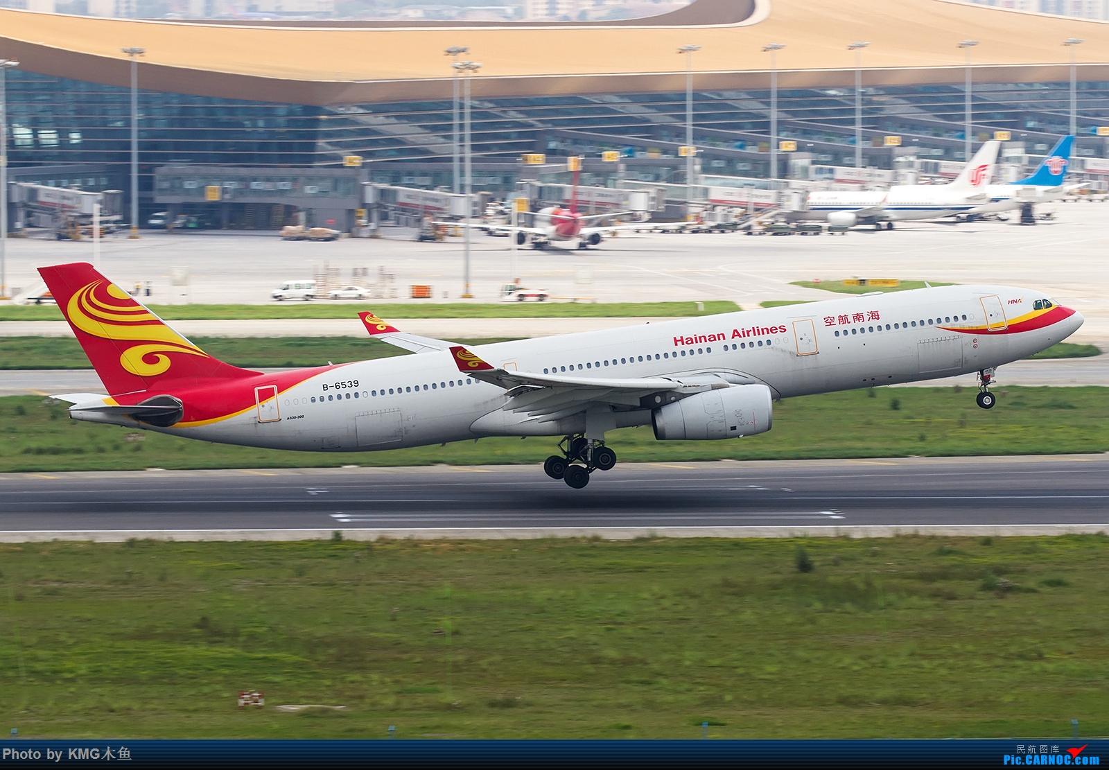 Re:[原创]【昆明长水国际机场——KMG木鱼拍机】第一次大中午的拍飞机,还好宽体比较多,也算是值得了 AIRBUS A330-300 B-6539 中国昆明长水国际机场
