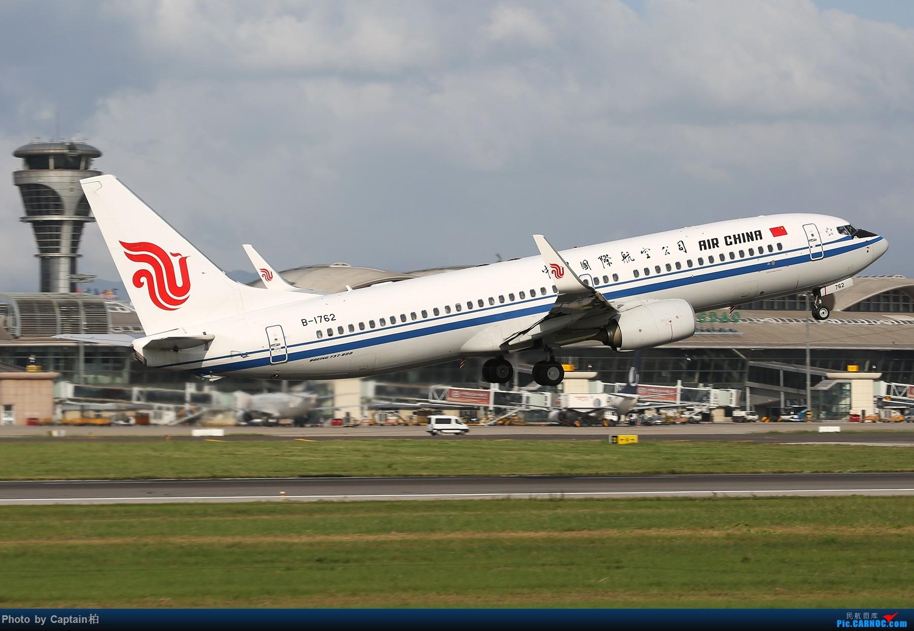 [原创]青岛杂图 BOEING 737-800 B-1762 中国青岛流亭国际机场