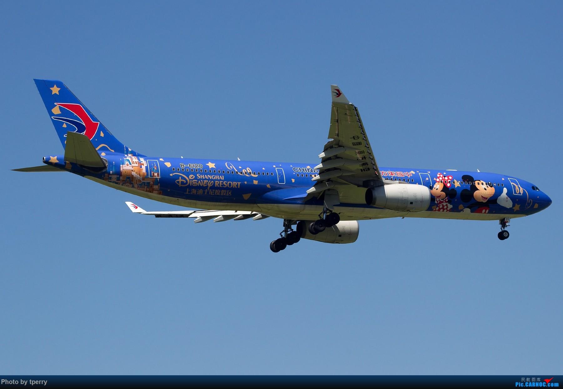 Re:[原创]【1800大图】蓝天来好货的机会可真不多 关键词:汉莎拜仁 米老鼠 达美天合 AIRBUS A330-300 B-6120 中国北京首都国际机场