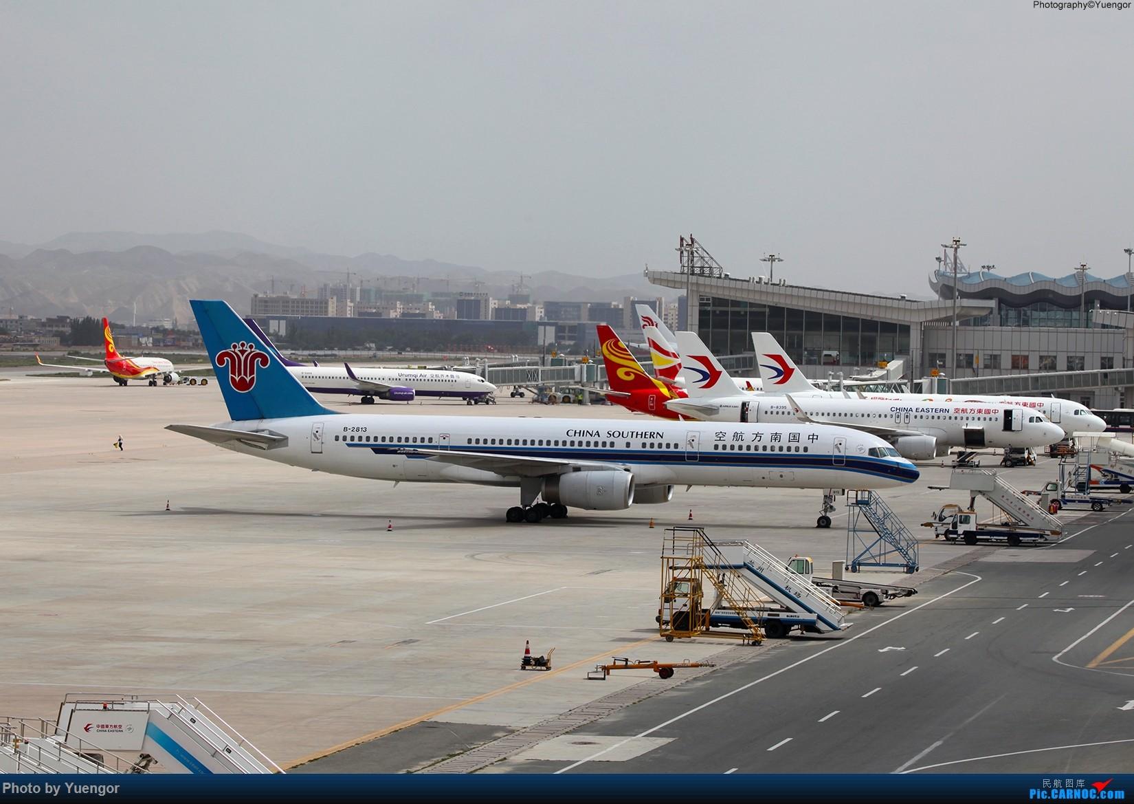 Re:[原创]【兰州飞友会】2016LHW本场拍机 原谅发图晚 BOEING 757-200 B-2813 中国兰州中川国际机场
