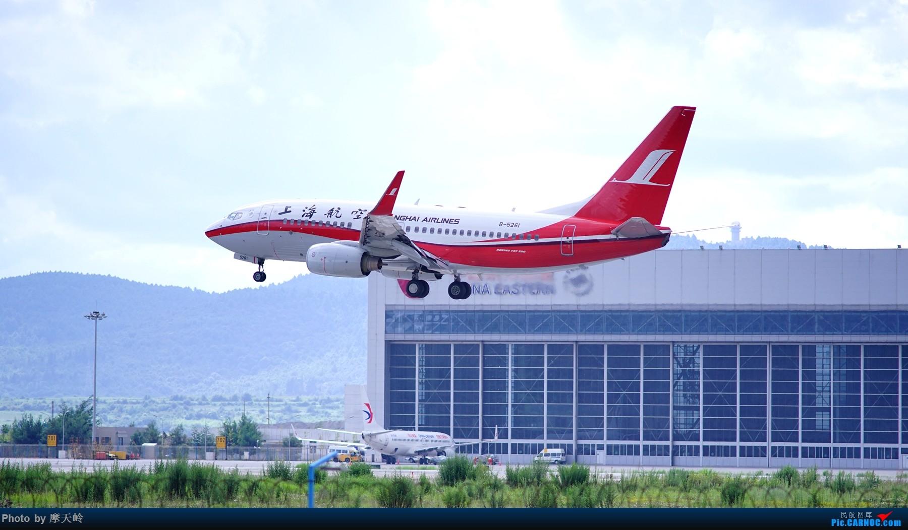 Re:[原创]kmg 长水东跑道 BOEING 737-700 B-5261 中国昆明长水国际机场
