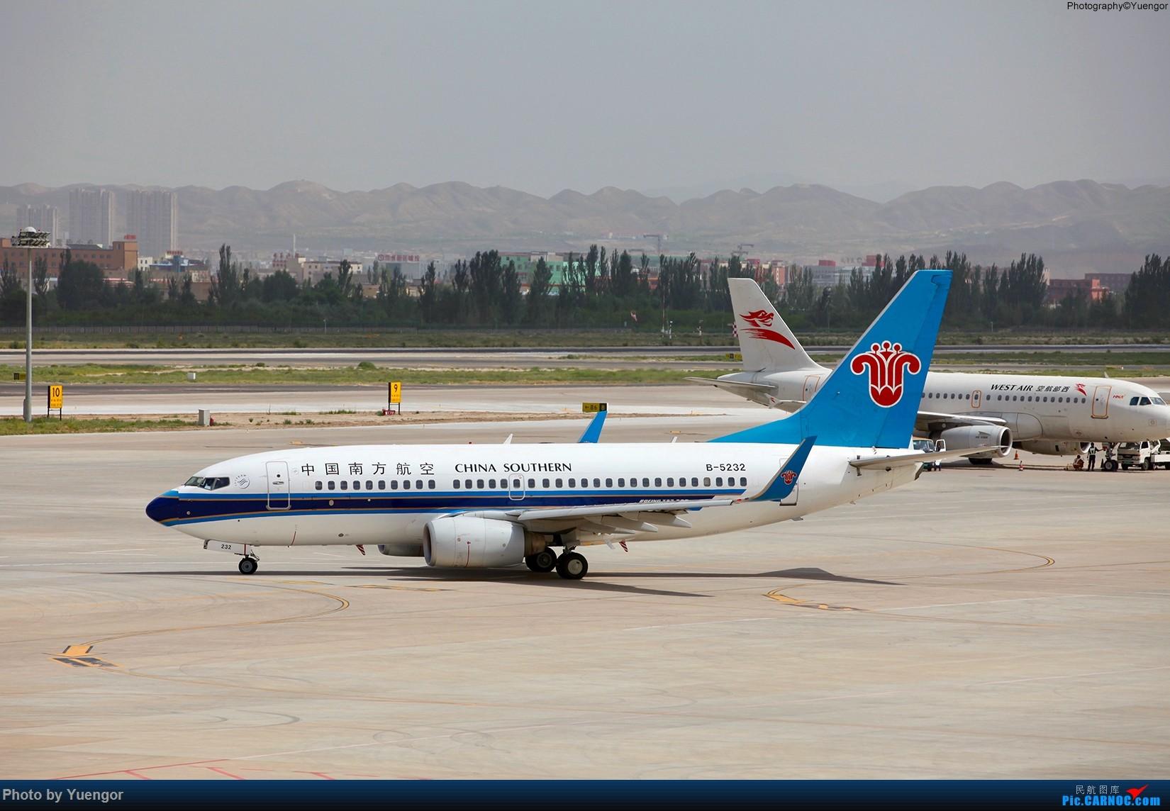 Re:[原创]【兰州飞友会】2016LHW本场拍机 原谅发图晚 BOEING 737-700 B-5232 中国兰州中川国际机场