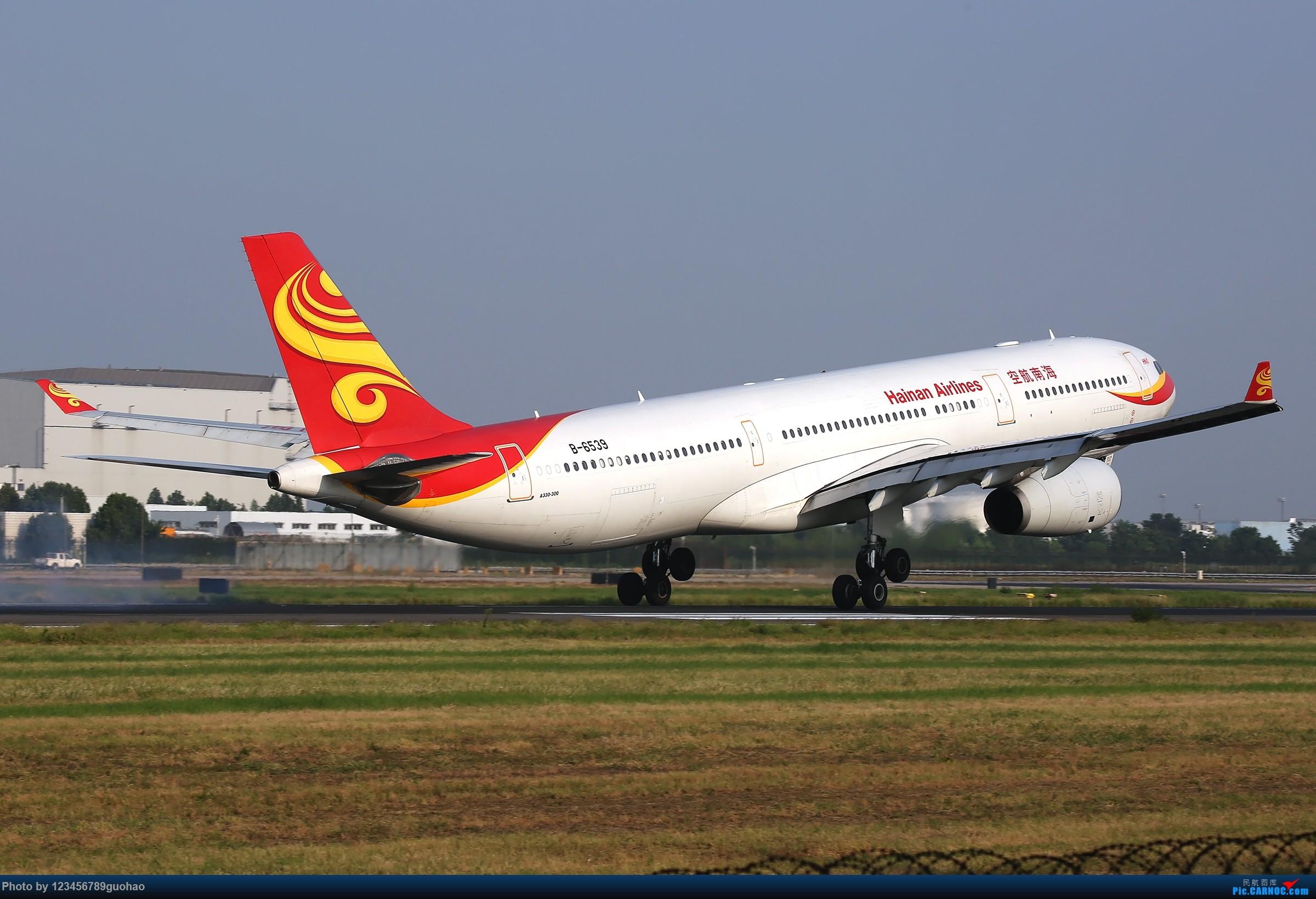 [原创]所剩无几的老装 AIRBUS A330-300 B-6539 北京首都国际机场