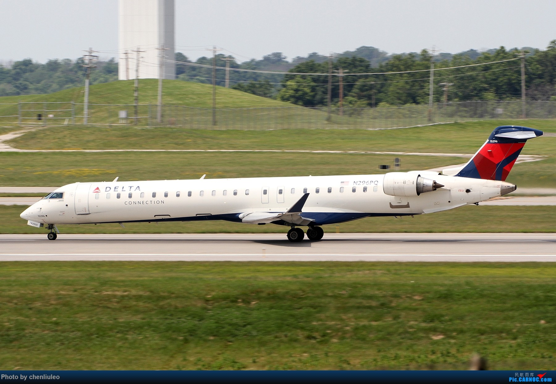 Re:[原创]【北美飞友会】辛辛那提北肯塔基国际机场 货机的天堂 BOMBARDIER CRJ-900 N296PQ 美国辛辛那提-北肯塔基国际机场