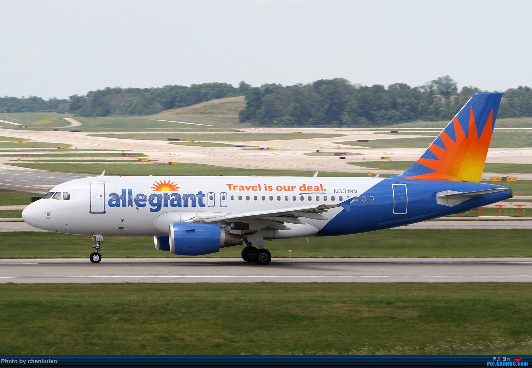 Re:[原创]【北美飞友会】辛辛那提北肯塔基国际机场 货机的天堂 AIRBUS A319-100 N311NV 美国辛辛那提-北肯塔基国际机场