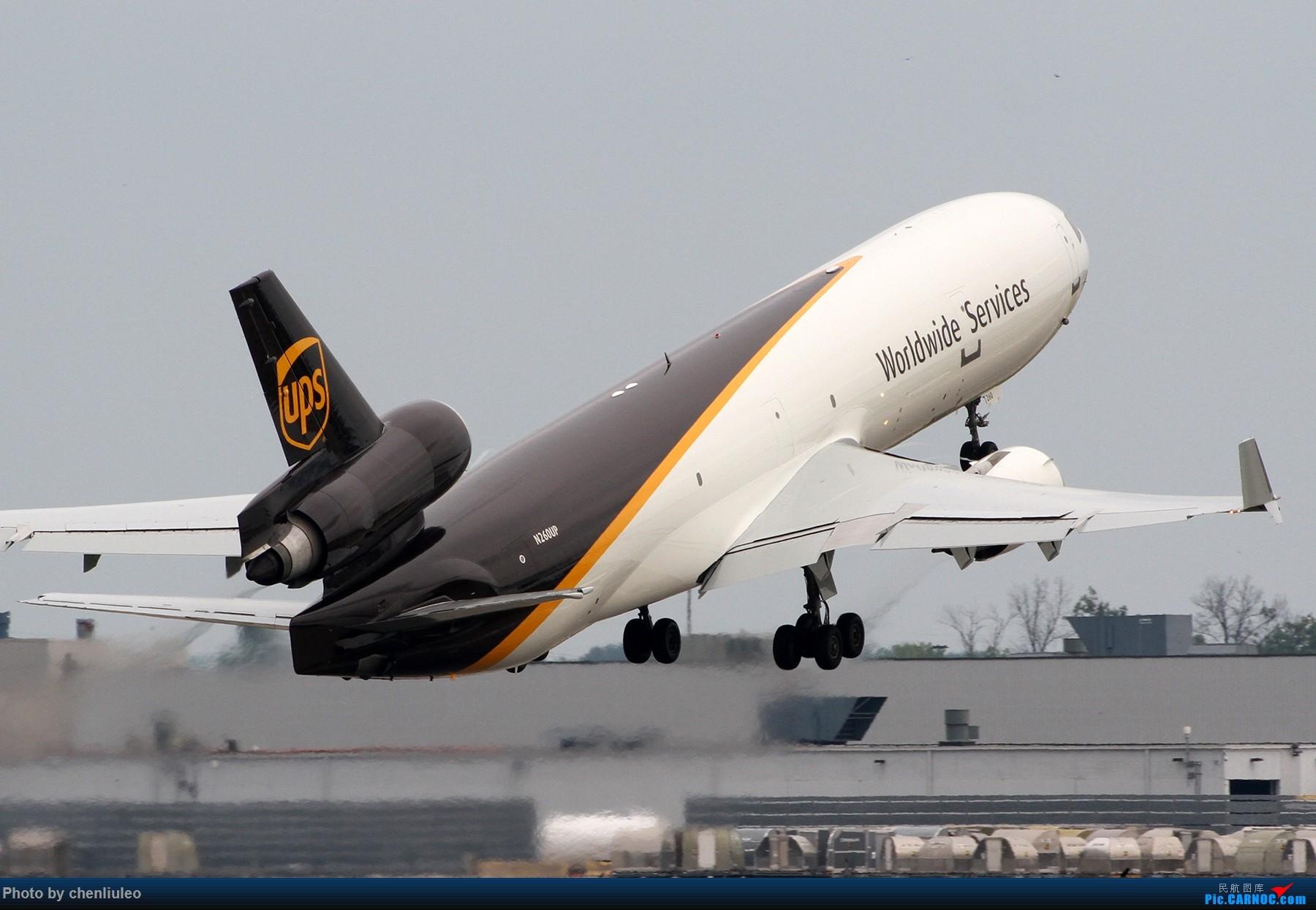 Re:【北美飞友会】肯塔基州路易斯维尔 UPS的大本营 深棕色尾巴让你一次看个够 MD MD-11F N260UP 美国辛辛那提-北肯塔基国际机场