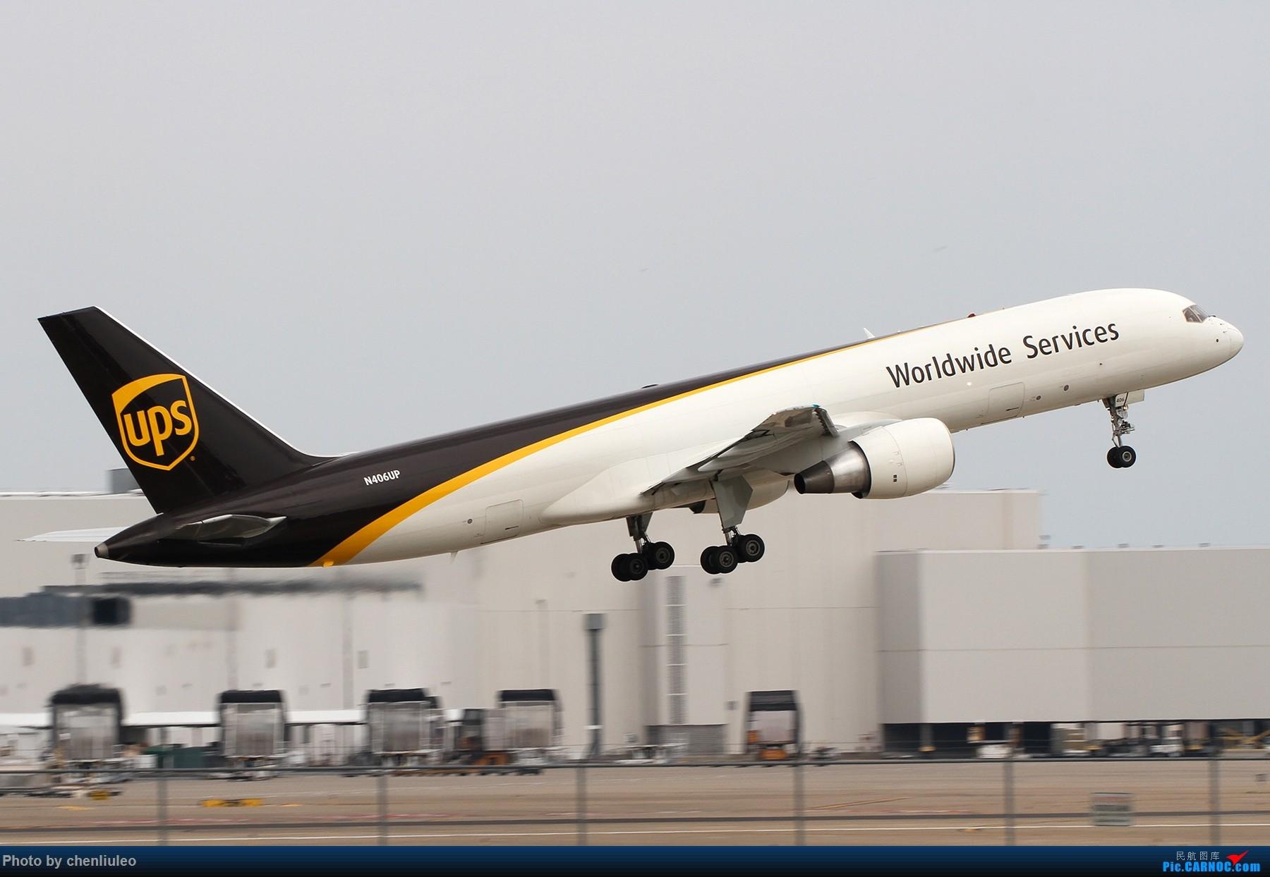 Re:【北美飞友会】肯塔基州路易斯维尔 UPS的大本营 深棕色尾巴让你一次看个够 BOEING 757-200F N406UP 美国辛辛那提-北肯塔基国际机场