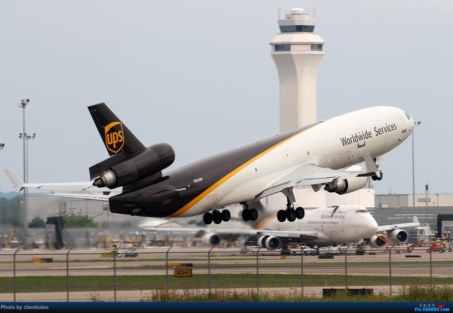 Re:【北美飞友会】肯塔基州路易斯维尔 UPS的大本营 深棕色尾巴让你一次看个够 MD MD-11F N254UP 美国辛辛那提-北肯塔基国际机场