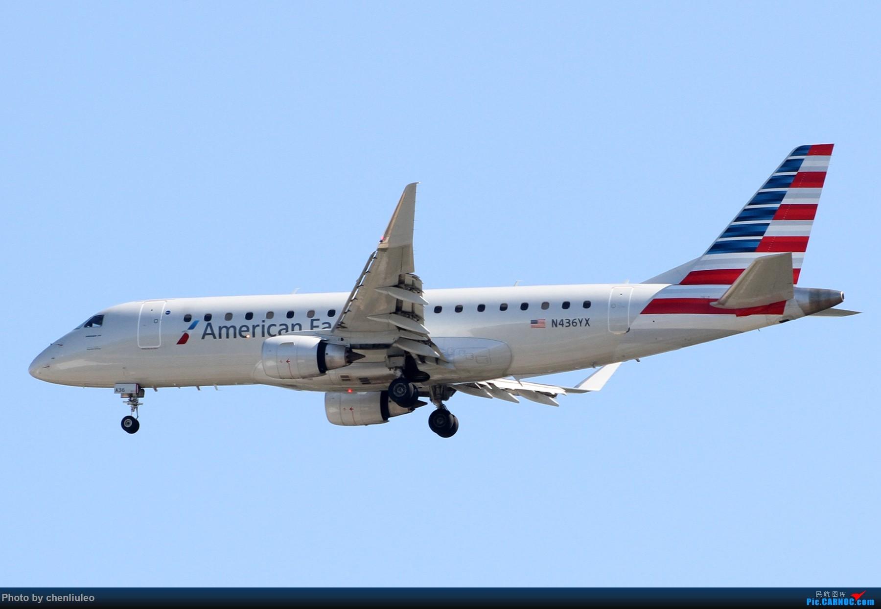 Re:【北美飞友会】本来是去等西南航空的新加州一号彩绘 结果有意外惊喜 美军C-40C EMBRAER E175 N436YX 美国圣路易斯机场