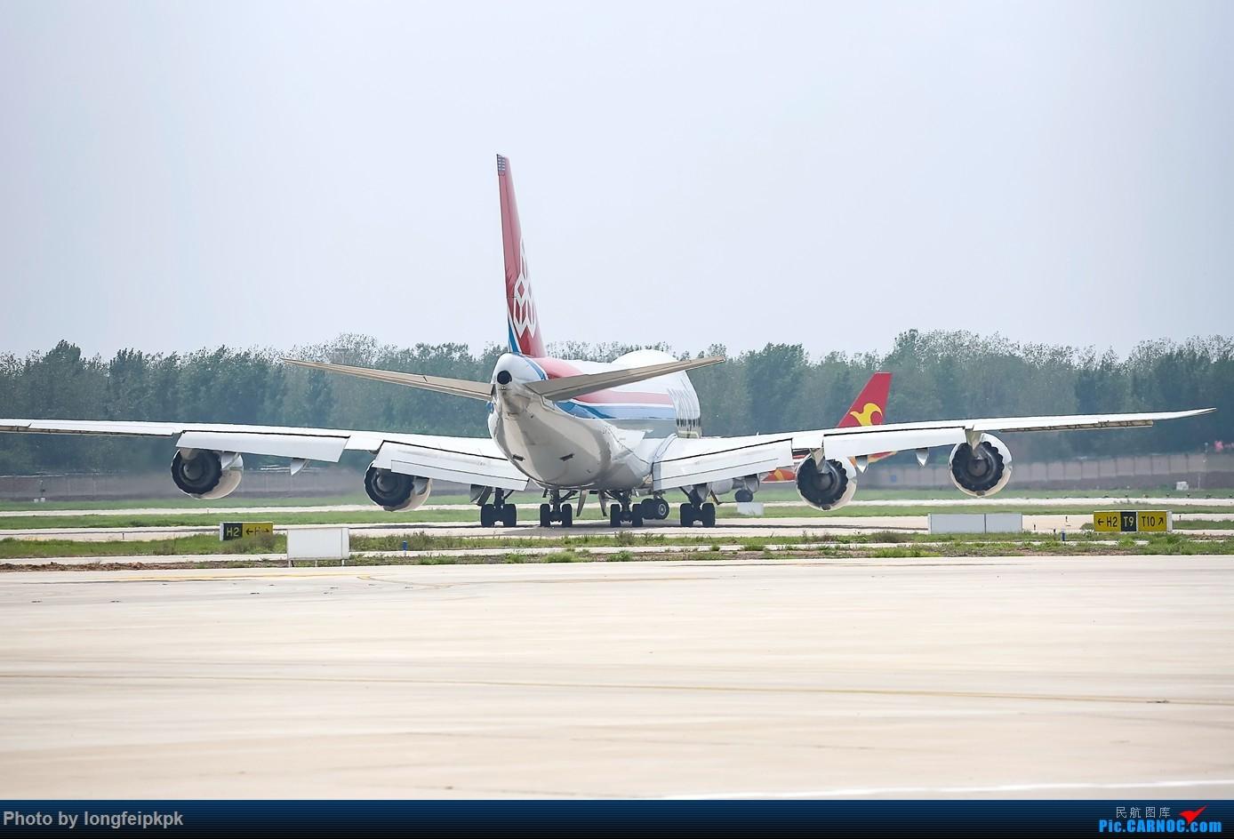 "Re:[原创]【郑州飞友会】卢森堡货运""郑州号"" BOEING 747-8R7(F) LX-VCJ 中国郑州新郑国际机场"