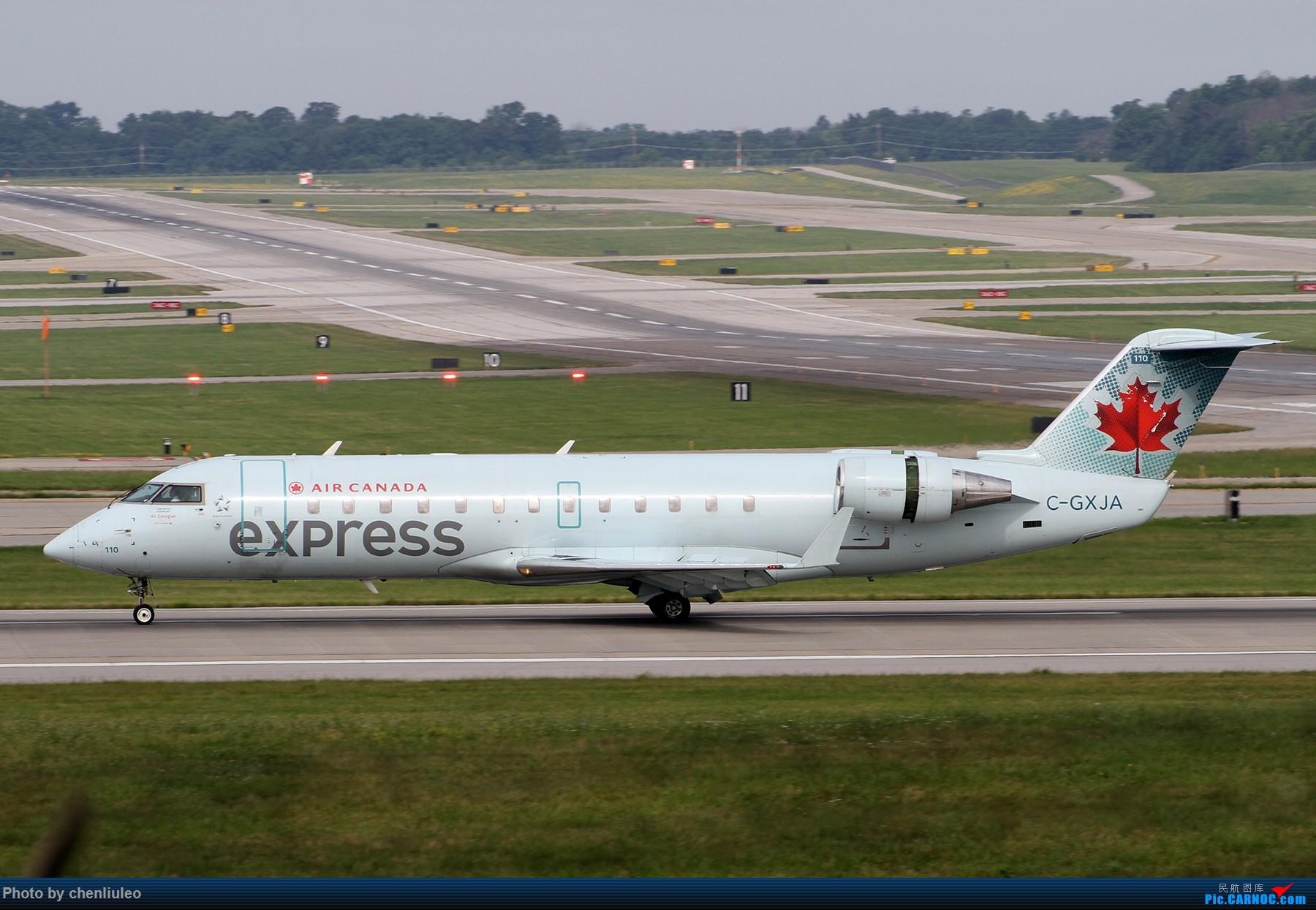 Re:[原创]【北美飞友会】辛辛那提北肯塔基国际机场 货机的天堂 BOMBARDIER CRJ-200 C-GXJA 美国辛辛那提-北肯塔基国际机场