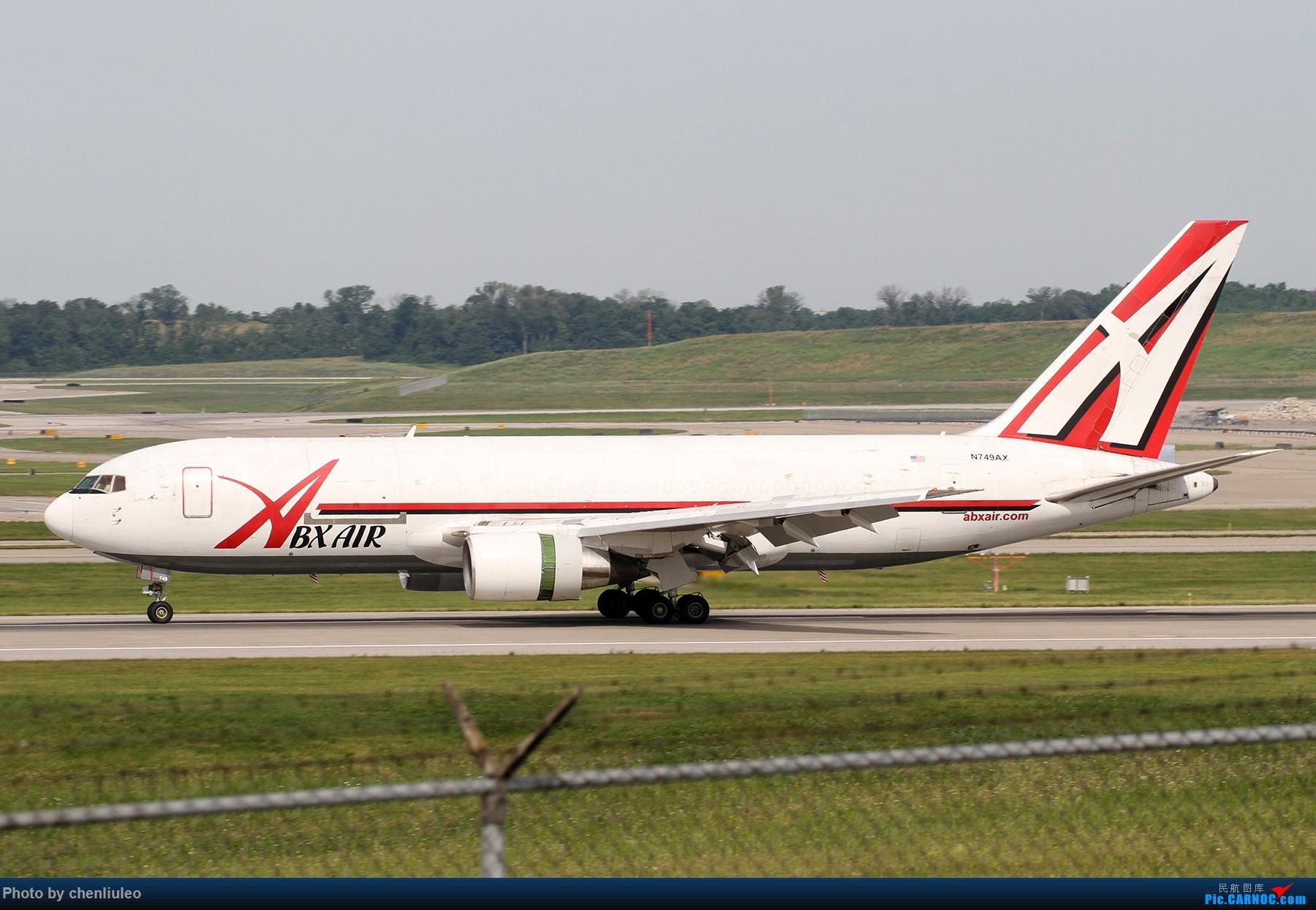 Re:[原创]【北美飞友会】辛辛那提北肯塔基国际机场 货机的天堂 BOEING 767-200 N749AX 美国辛辛那提-北肯塔基国际机场