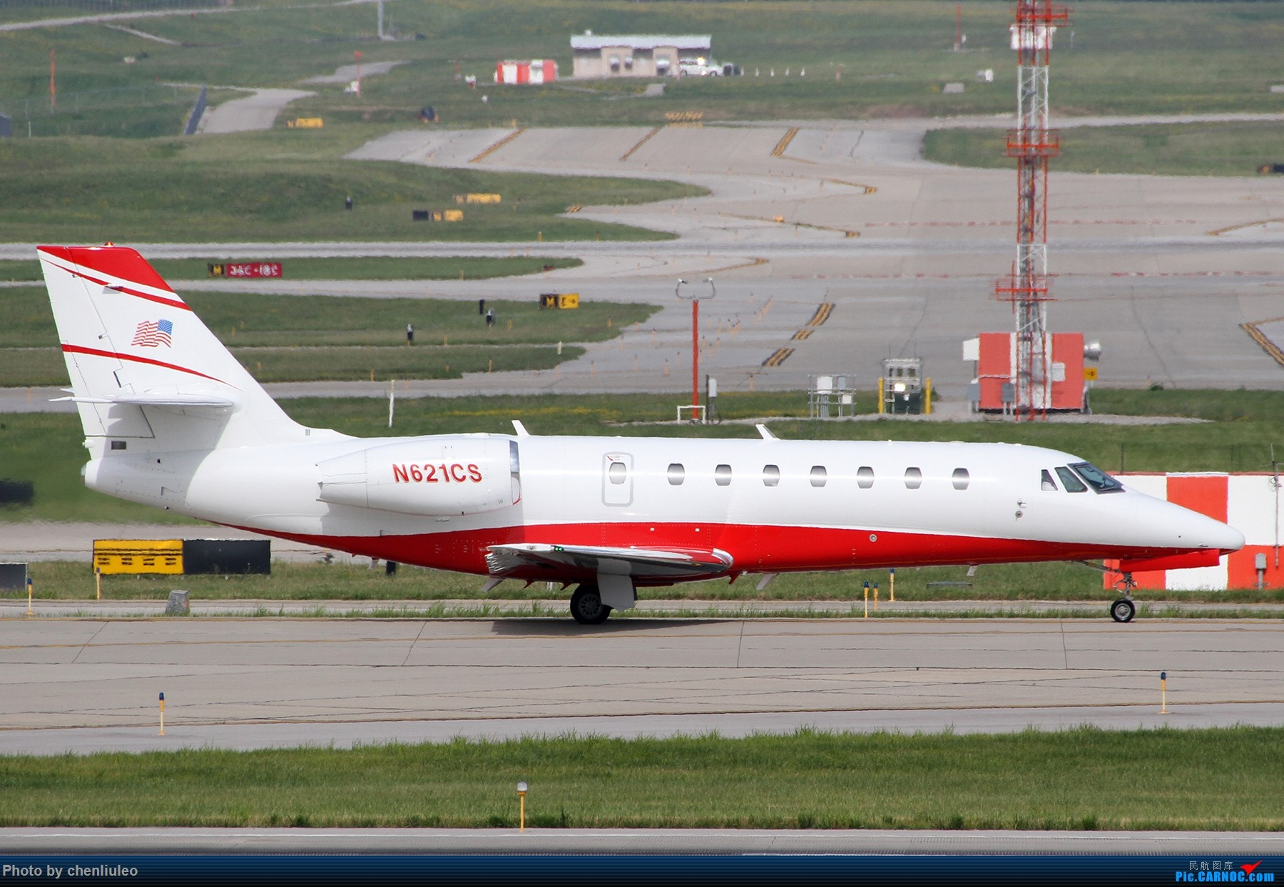 Re:[原创]【北美飞友会】辛辛那提北肯塔基国际机场 货机的天堂 CESSNA 680 N621CS 美国辛辛那提-北肯塔基国际机场