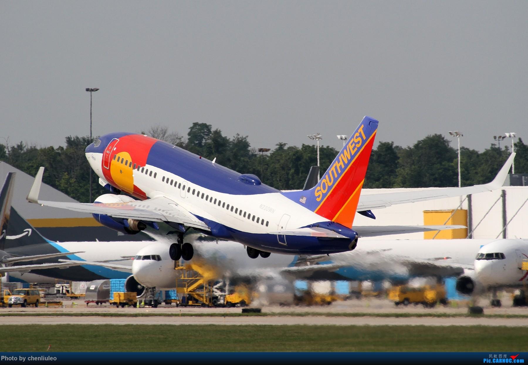 Re:[原创]【北美飞友会】辛辛那提北肯塔基国际机场 货机的天堂 BOEING 737-700 N230WN 美国辛辛那提-北肯塔基国际机场