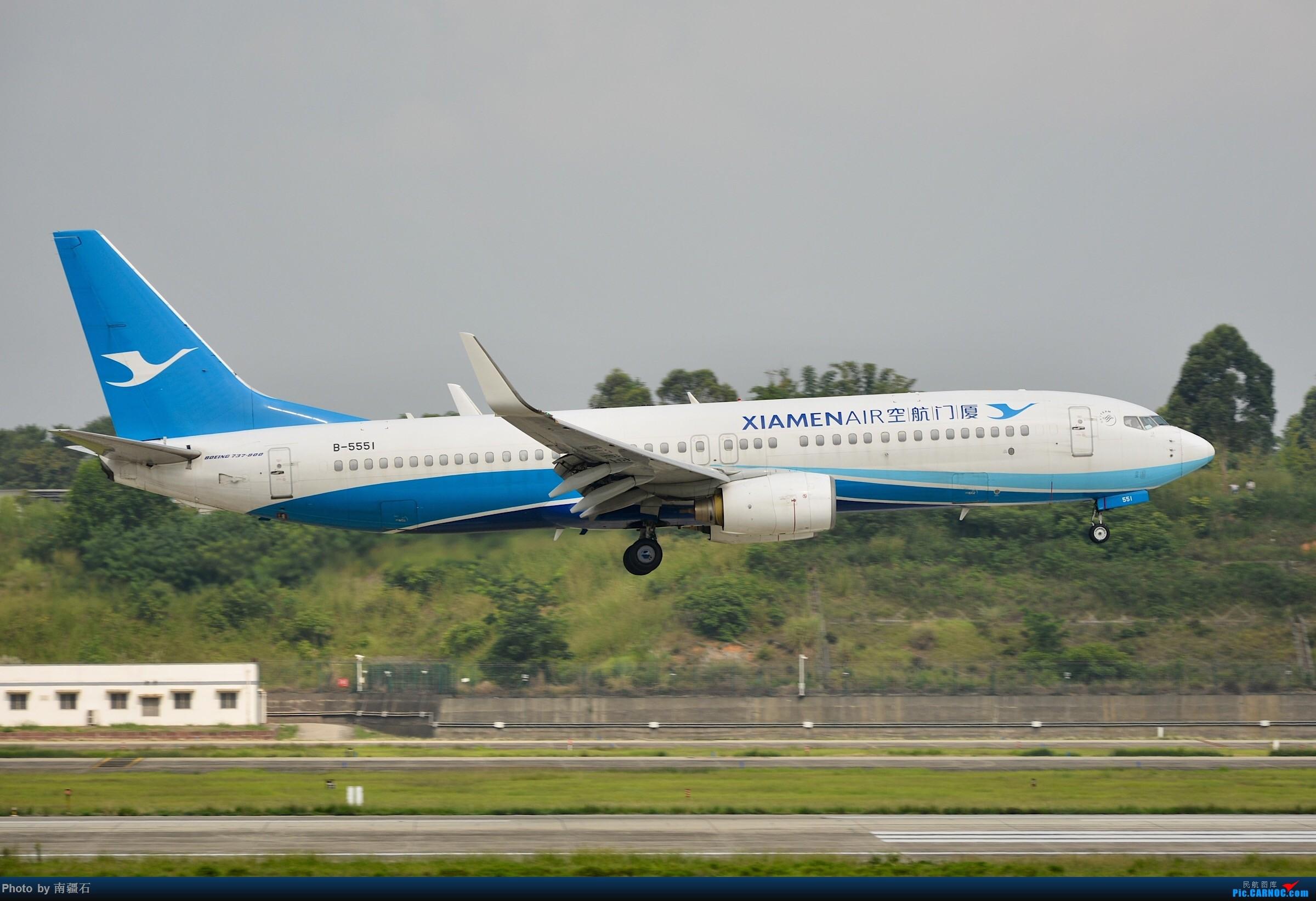 Re:[原创]【CTU】上海航B-5550_B738 BOEING 737-800 B-5551 中国成都双流国际机场