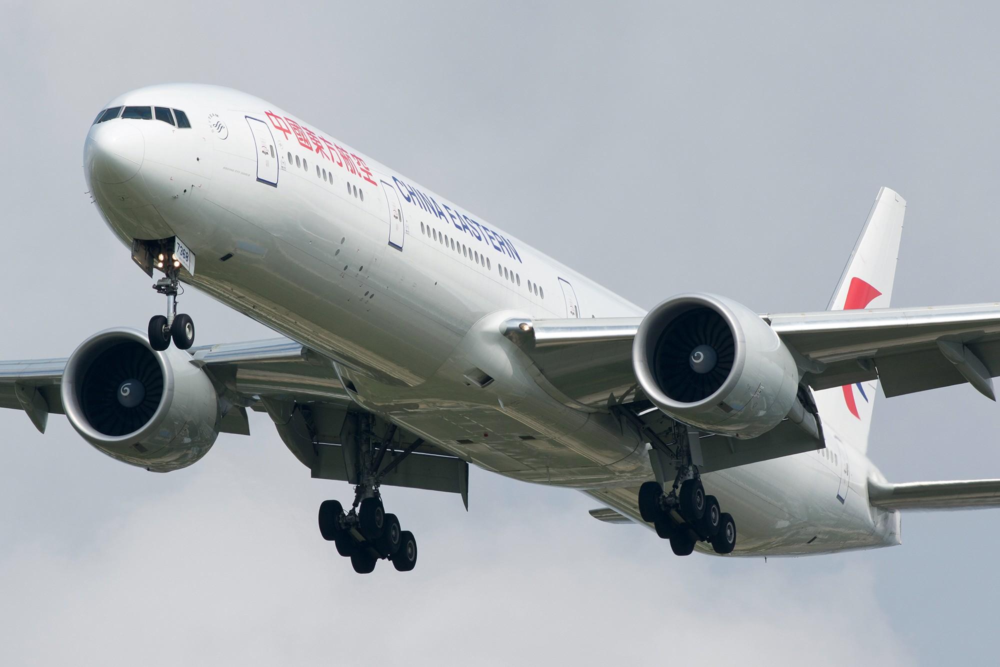 Re:Re:[原创][PVG] 霸气海航787-9一张 BOEING 777-300ER B-7368 中国上海浦东国际机场
