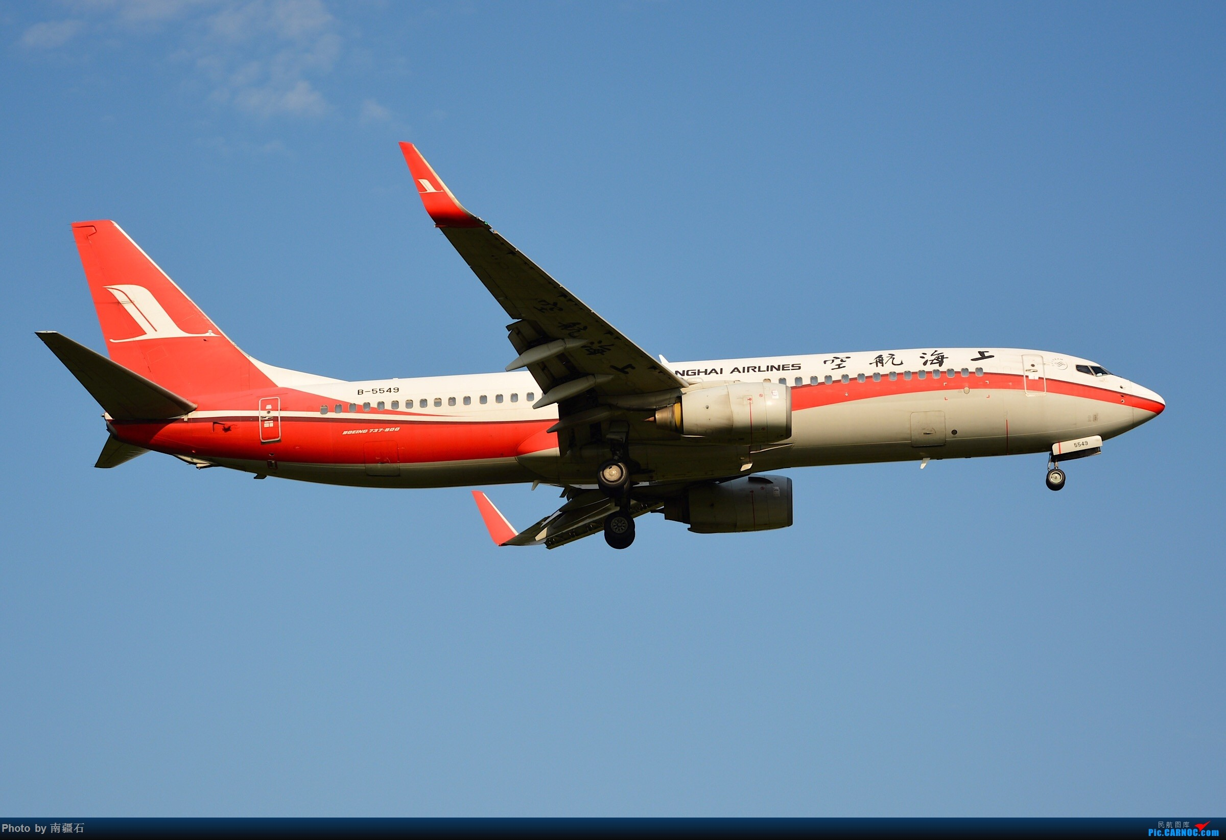 Re:[原创]【CTU】上海航B-5550_B738 BOEING 737-800 B-5549 中国成都双流国际机场