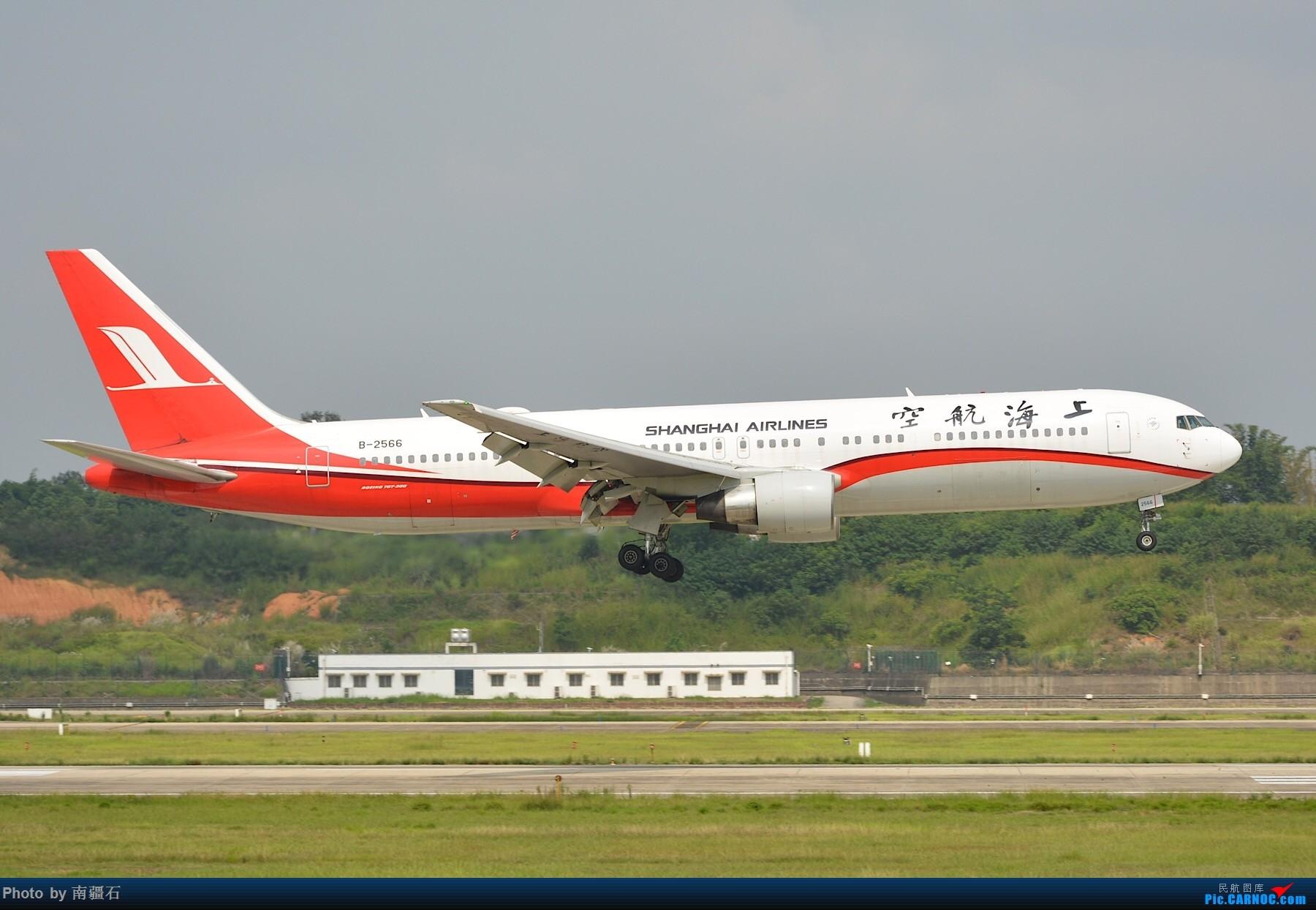 [原创]CTU 朝阳下的上航763 BOEING 767-300 B-2566 中国成都双流国际机场