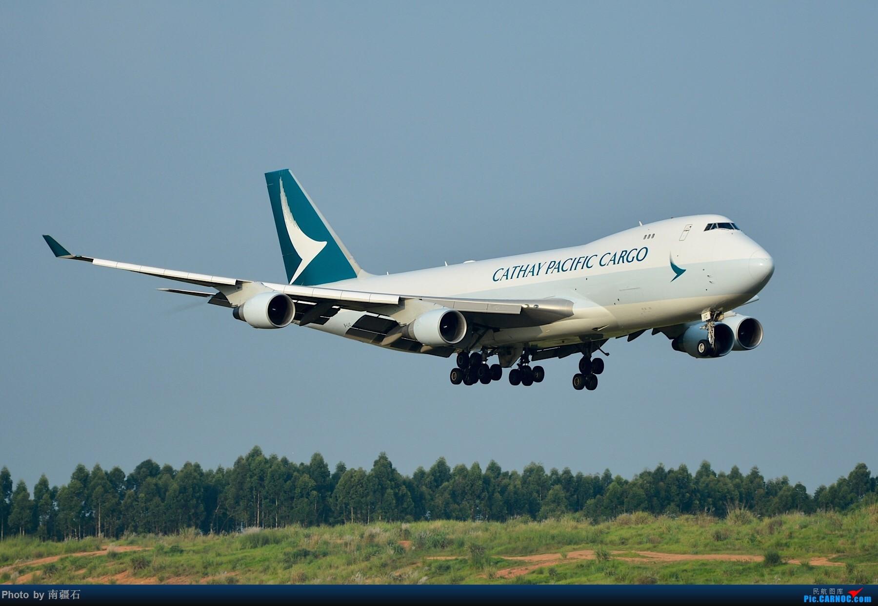 [原创]CTU 国泰货机747三连拍 BOEING 747-400 B-LIC 中国成都双流国际机场