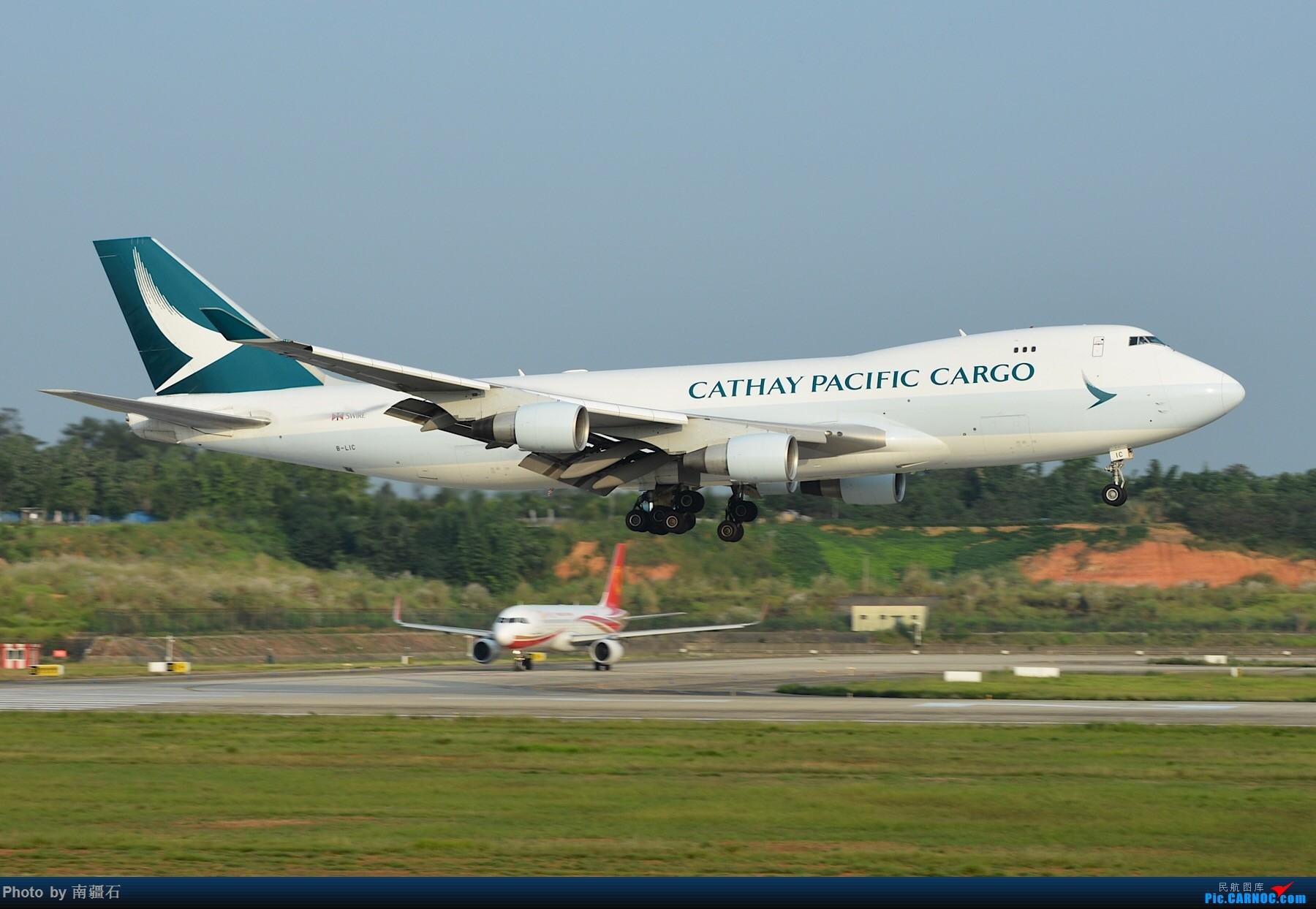 Re:[原创]CTU 国泰货机747三连拍 BOEING 747-400 B-LIC 中国成都双流国际机场