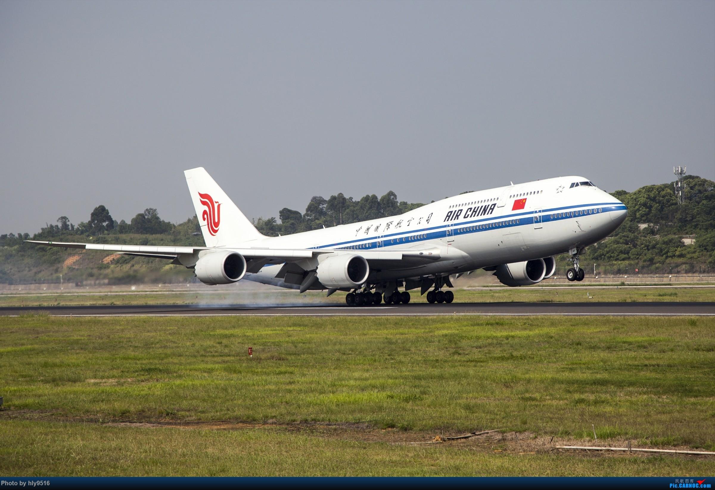 Re:[原创]【CTU】羡慕内场小黄车还有听说CA748来了 BOEING 747-8I B-2487 中国成都双流国际机场