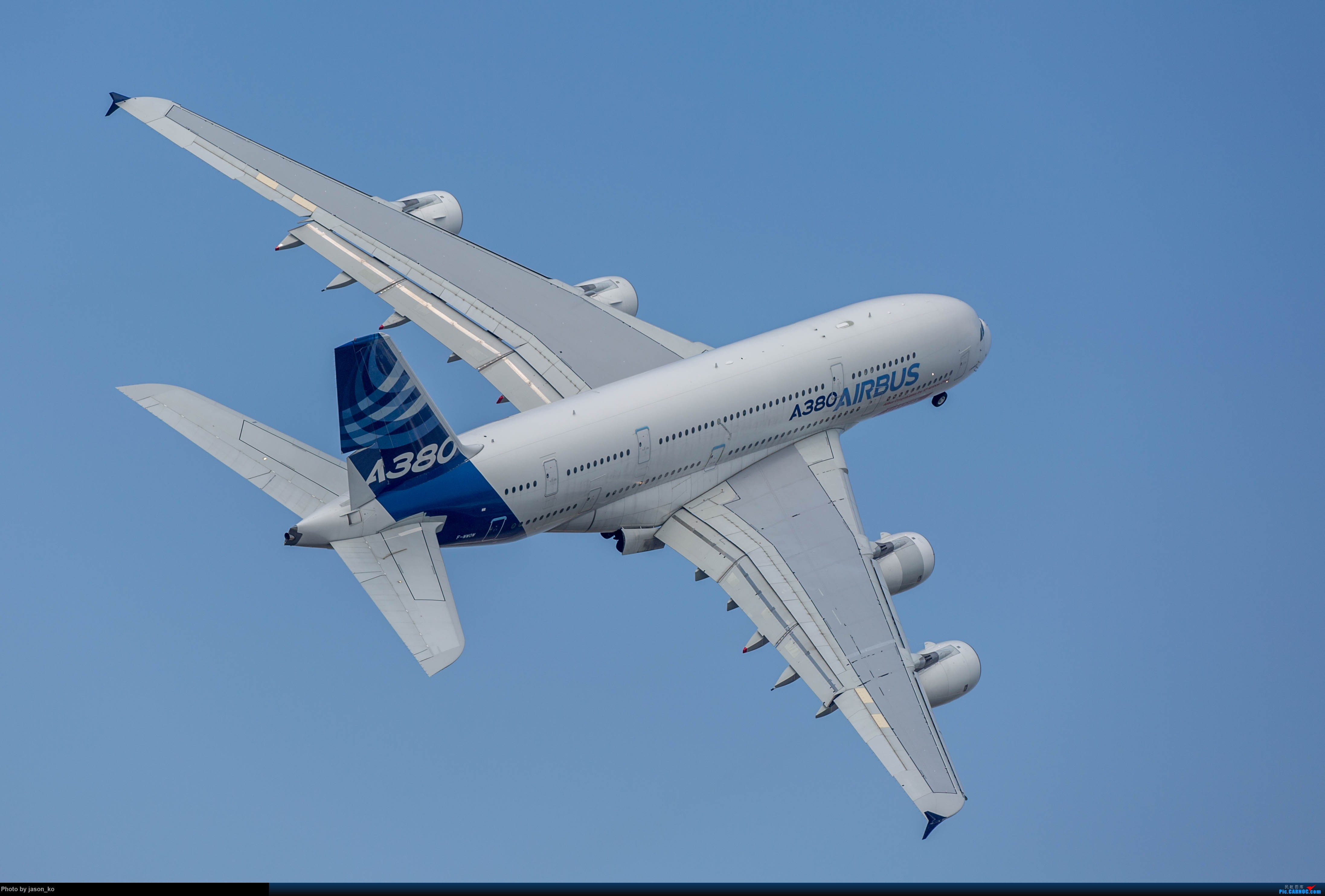 a380飞机图片_[ 审核图片]   [ 图片exif] 图片类别: 飞机 机型: airbus a380 拍摄