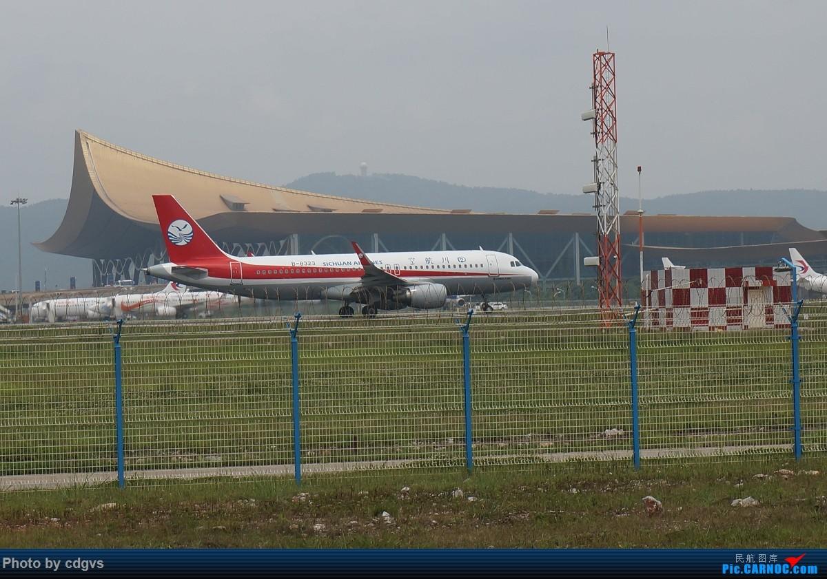 Re:[原创]【KMG】阴天独游长水,有宽体,有彩绘 AIRBUS A320-200 B-8323 中国昆明长水国际机场