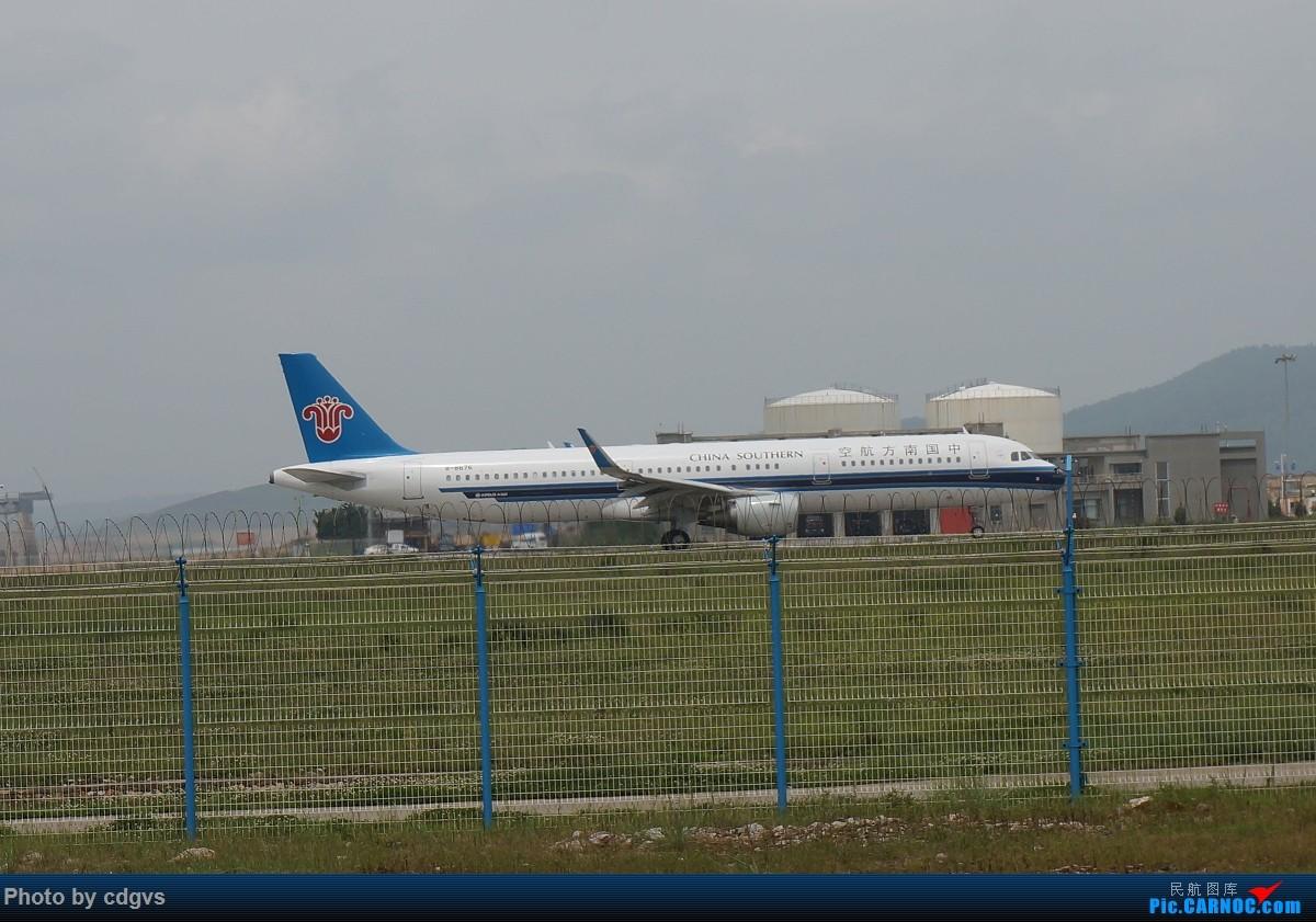 Re:[原创]【KMG】阴天独游长水,有宽体,有彩绘 AIRBUS A321-200 B-8676 中国昆明长水国际机场