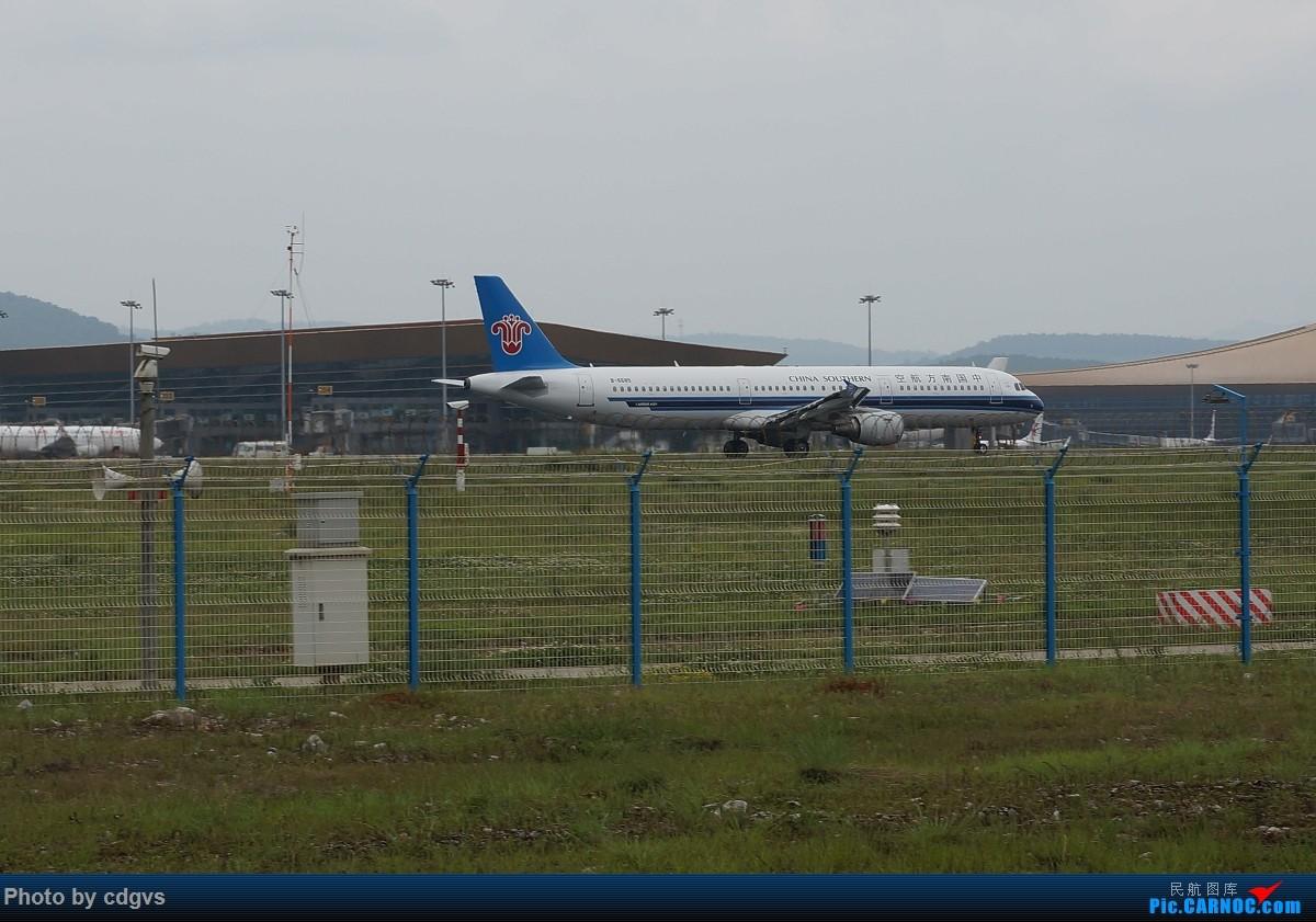 Re:[原创]【KMG】阴天独游长水,有宽体,有彩绘 AIRBUS A321-200 B-6685 中国昆明长水国际机场