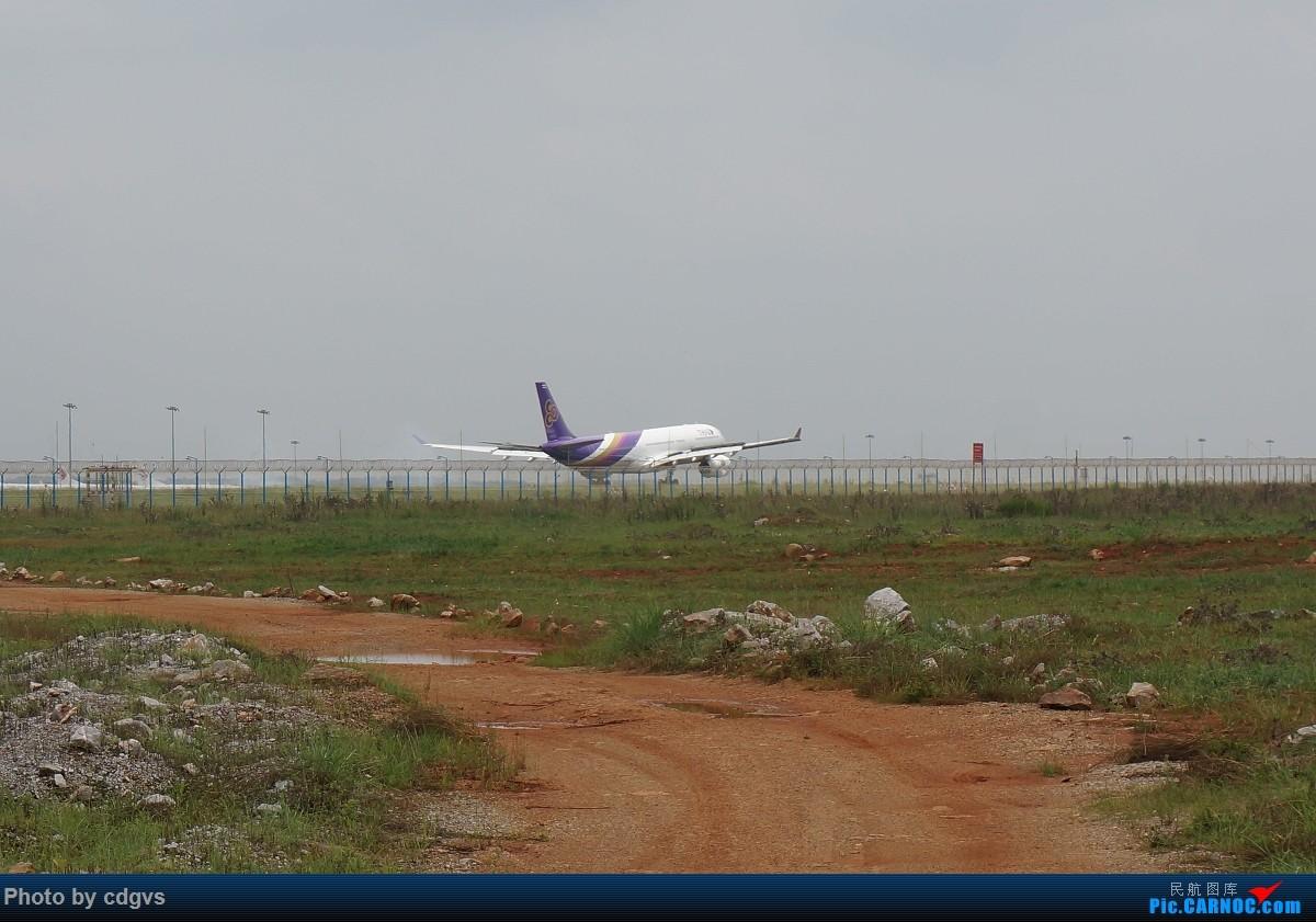 Re:[原创]【KMG】阴天独游长水,有宽体,有彩绘 AIRBUS A330-300 HS-TED 中国昆明长水国际机场