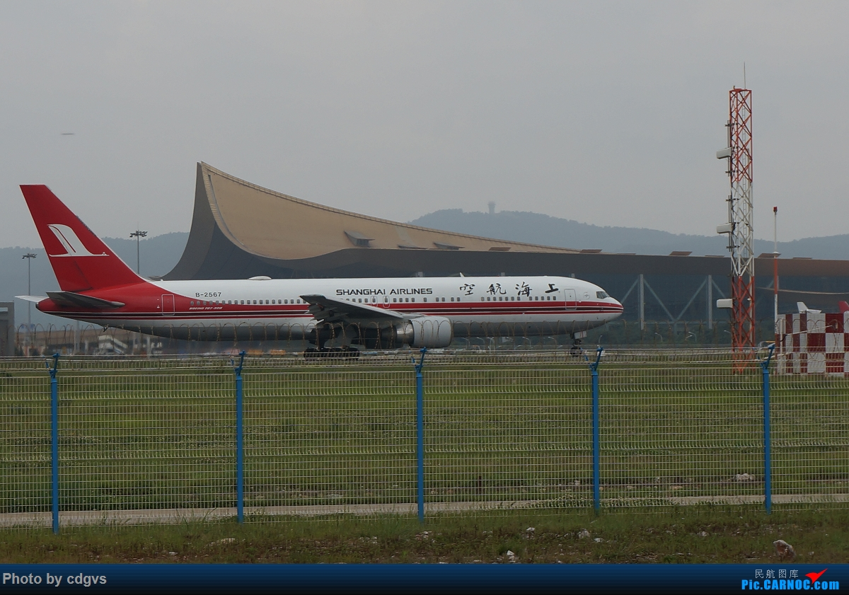 Re:[原创]【KMG】阴天独游长水,有宽体,有彩绘 BOEING 767-300 B-2563 中国昆明长水国际机场