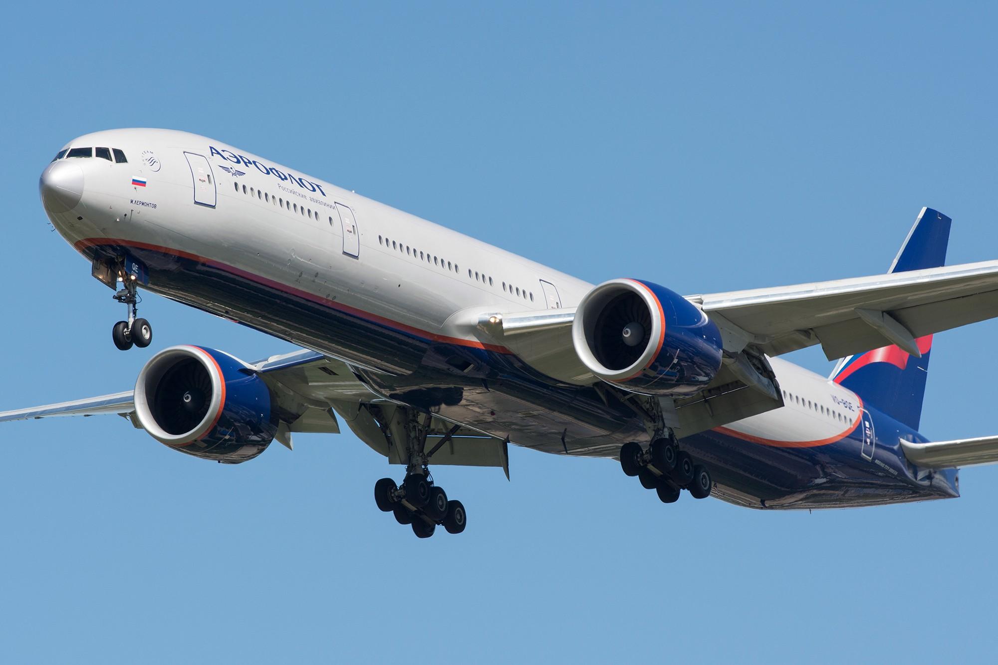 [原创][PVG] 首拍战斗民族之77W BOEING 777-300ER VQ-BQE 中国上海浦东国际机场