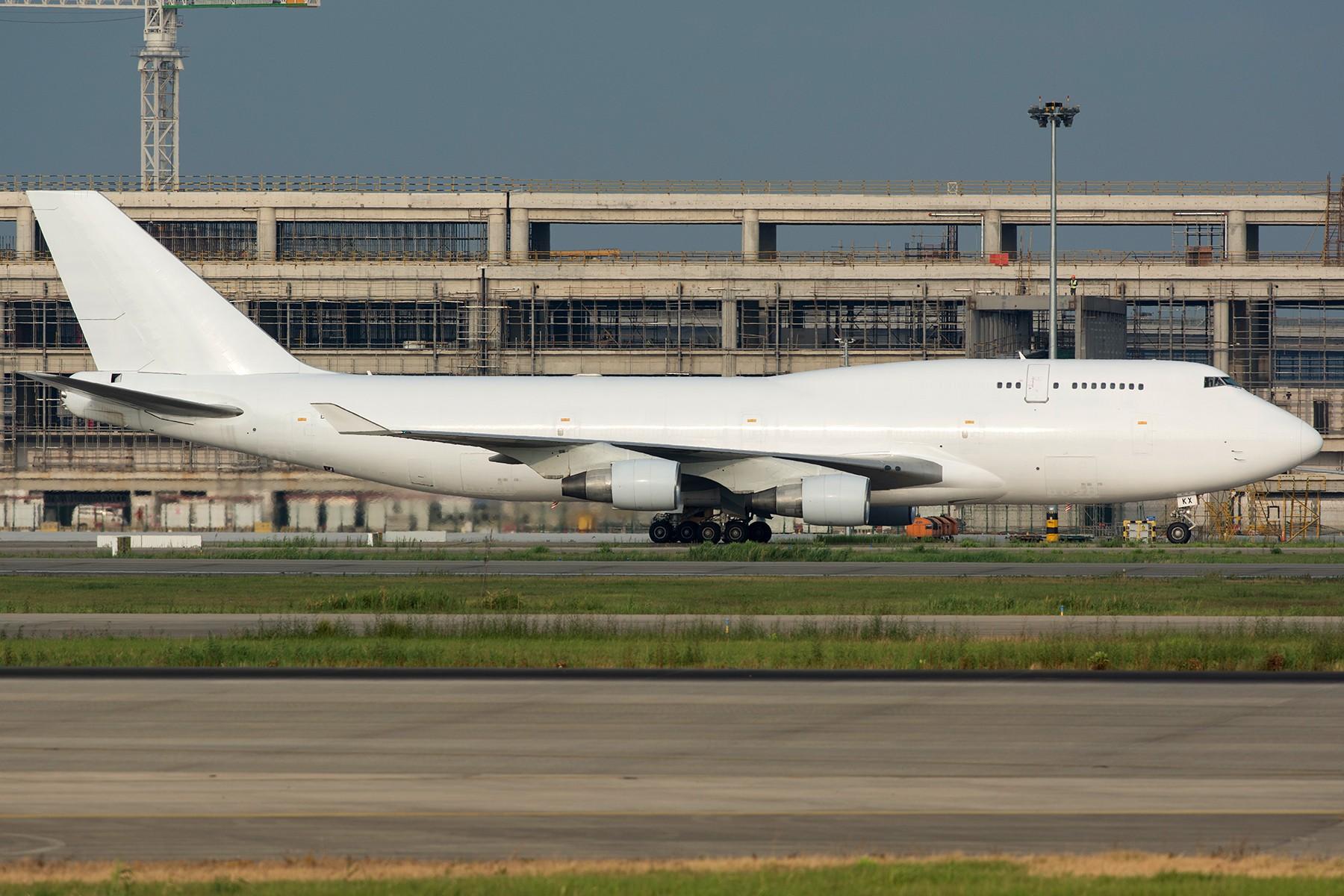 Re:[原创]【PVG】大白斩鸡一组 BOEING 747-400 B-HKX 中国上海浦东国际机场