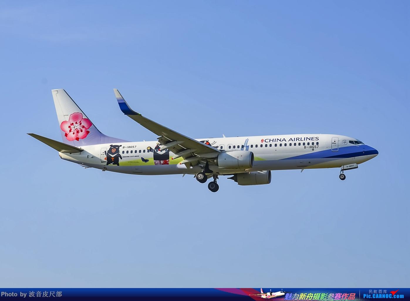 Re:[原创]郑州机场近期彩绘合集 BOEING 737-800 B-18657 中国郑州新郑国际机场