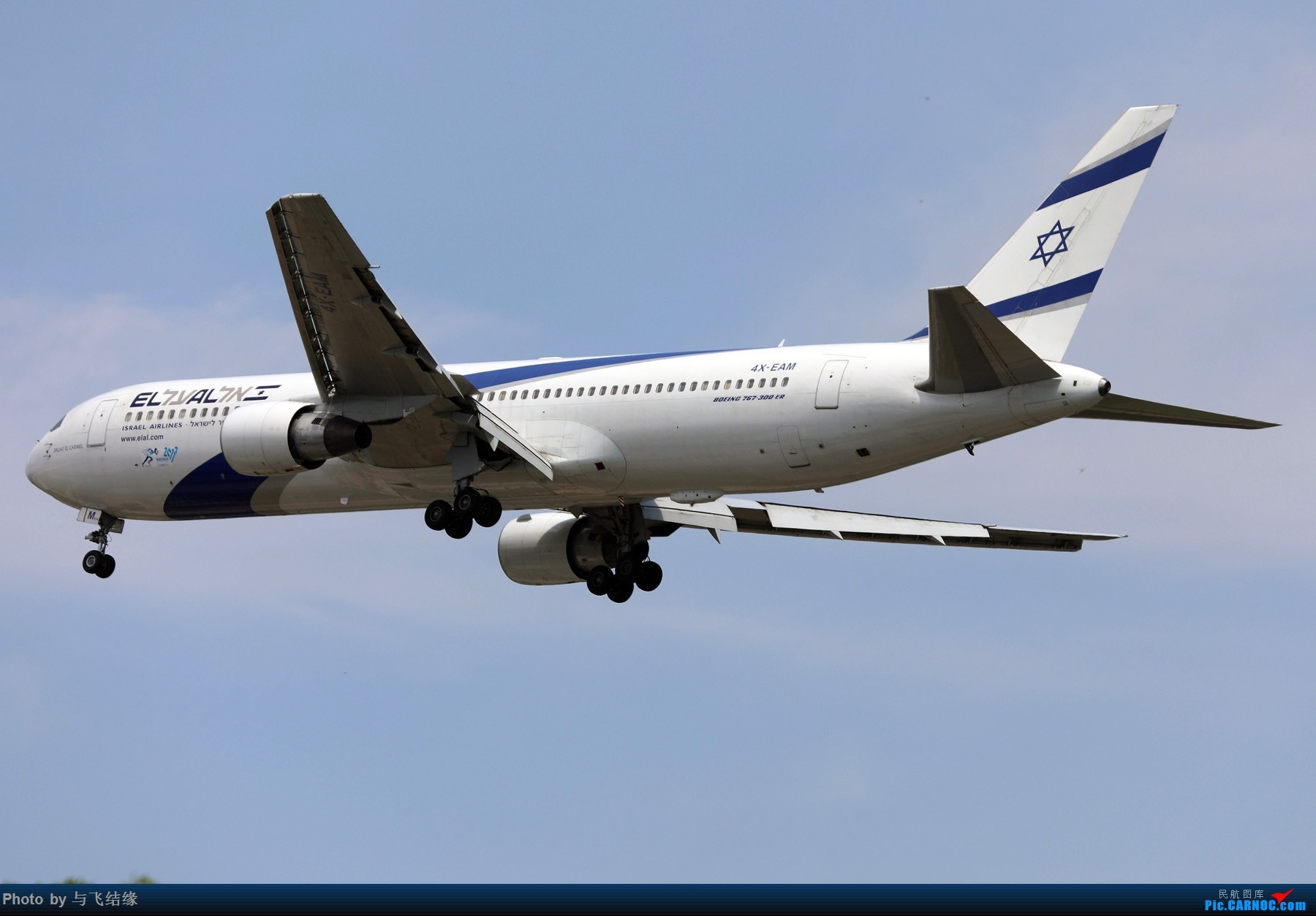 Re:以色列航空Boeing 767-300ER小彩绘及全日空Boeing 767-300ER
