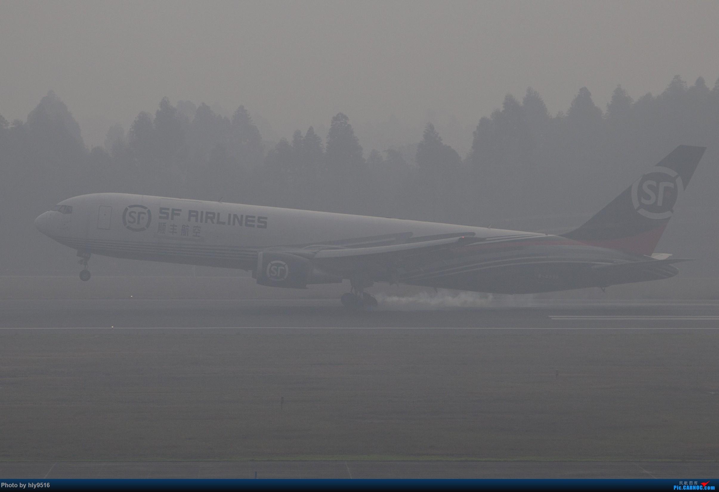 Re:【CTU】去年冬天老图一组,论成都的极致雾霾烂天 BOEING 767-300ER B-6996 中国成都双流国际机场
