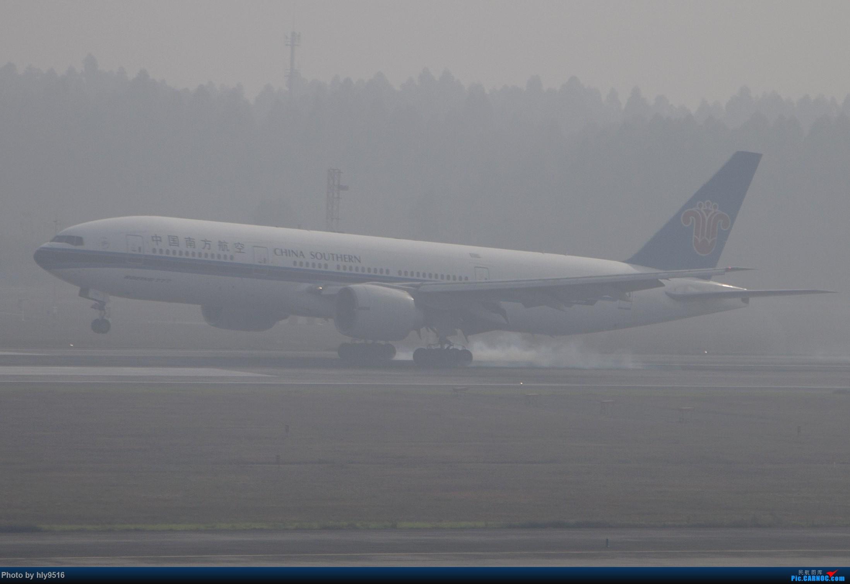 Re:[原创]【CTU】去年冬天老图一组,论成都的极致雾霾烂天 BOEING 777-200 B-2052 中国成都双流国际机场