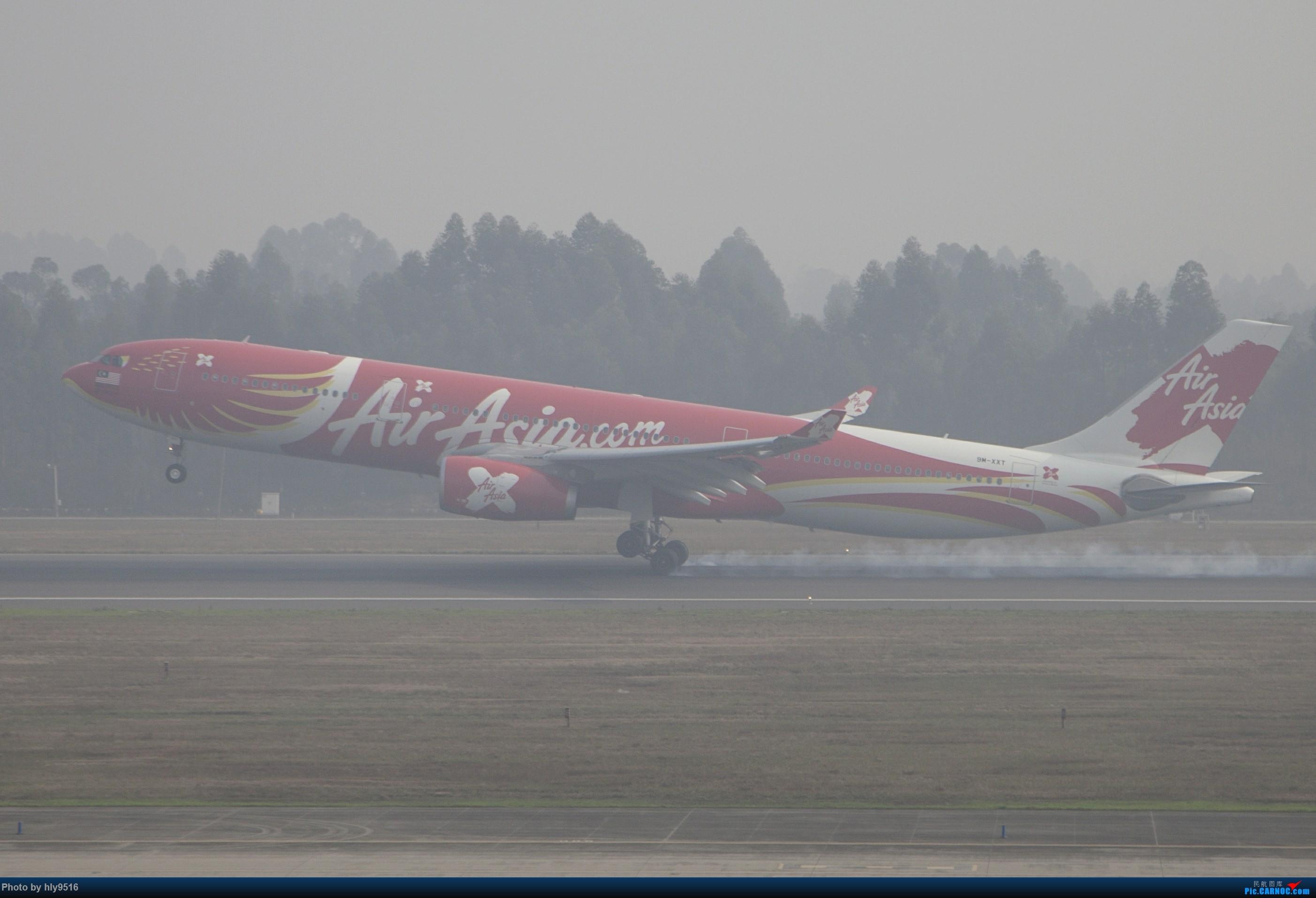 Re:[原创]【CTU】去年冬天老图一组,论成都的极致雾霾烂天 AIRBUS A330-300 9M-XXT 中国成都双流国际机场
