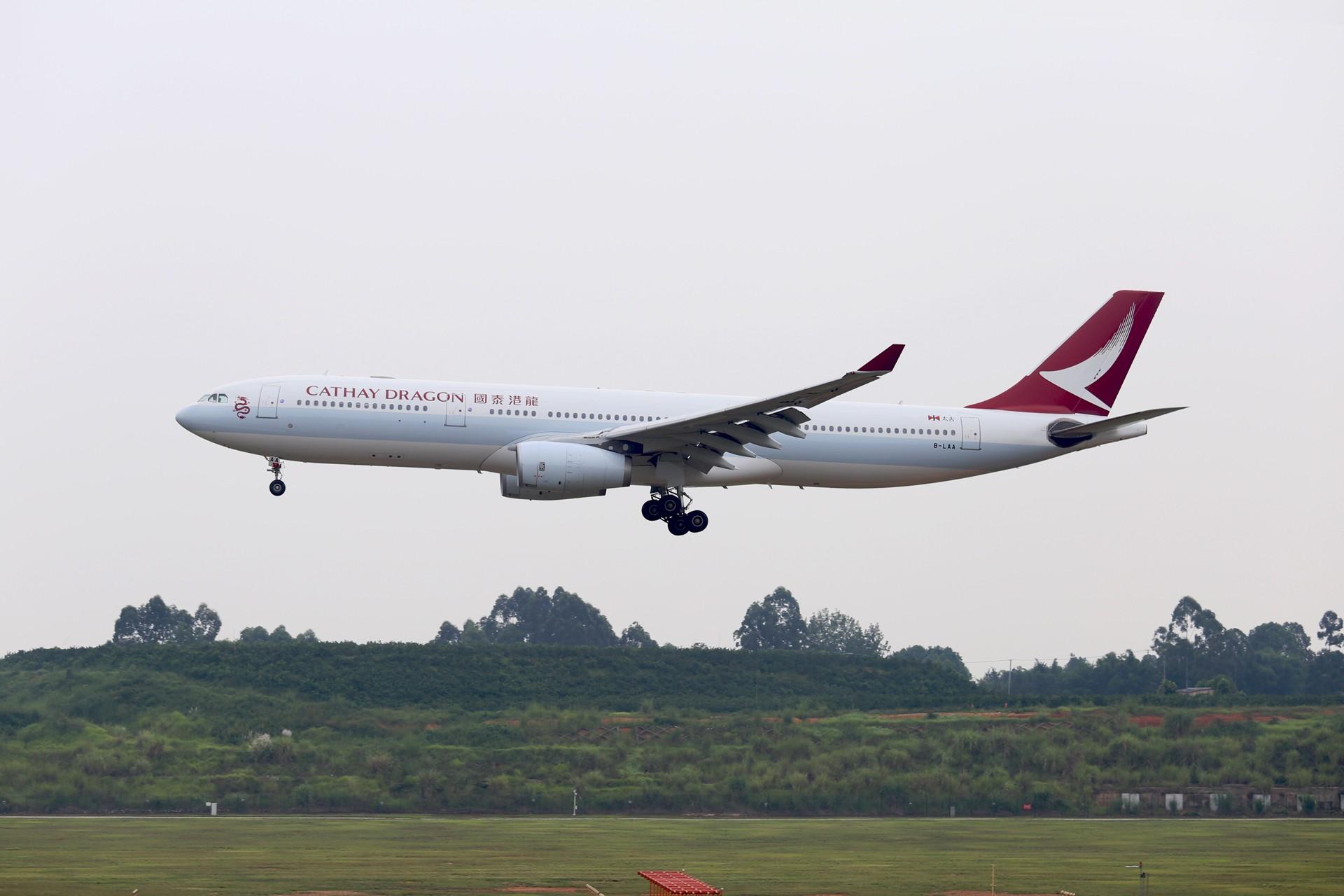 [原创]成都双流水泥厂的日常 AIRBUS A330-300 B-LAA 中国成都双流国际机场