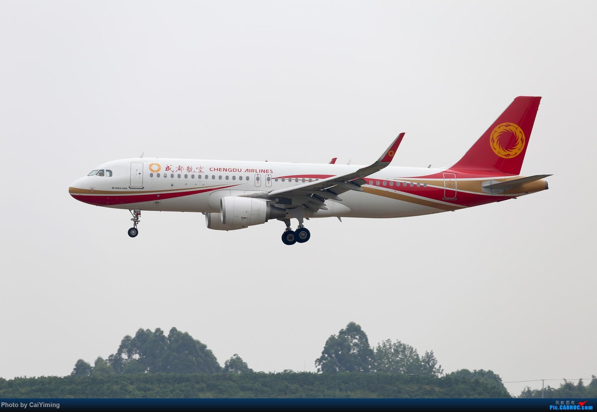 Re:[原创]成都双流水泥厂的日常 AIRBUS A320-200 B-8607 中国成都双流国际机场