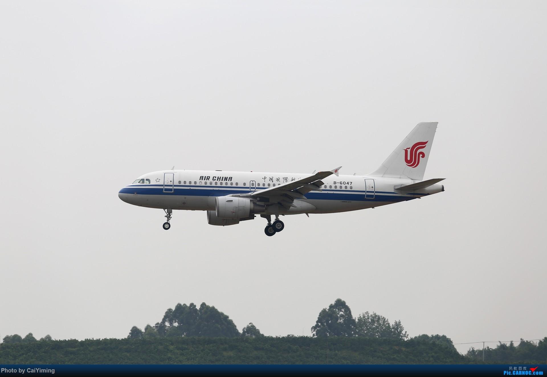 Re:[原创]成都双流水泥厂的日常 AIRBUS A319-100 B-6047 中国成都双流国际机场