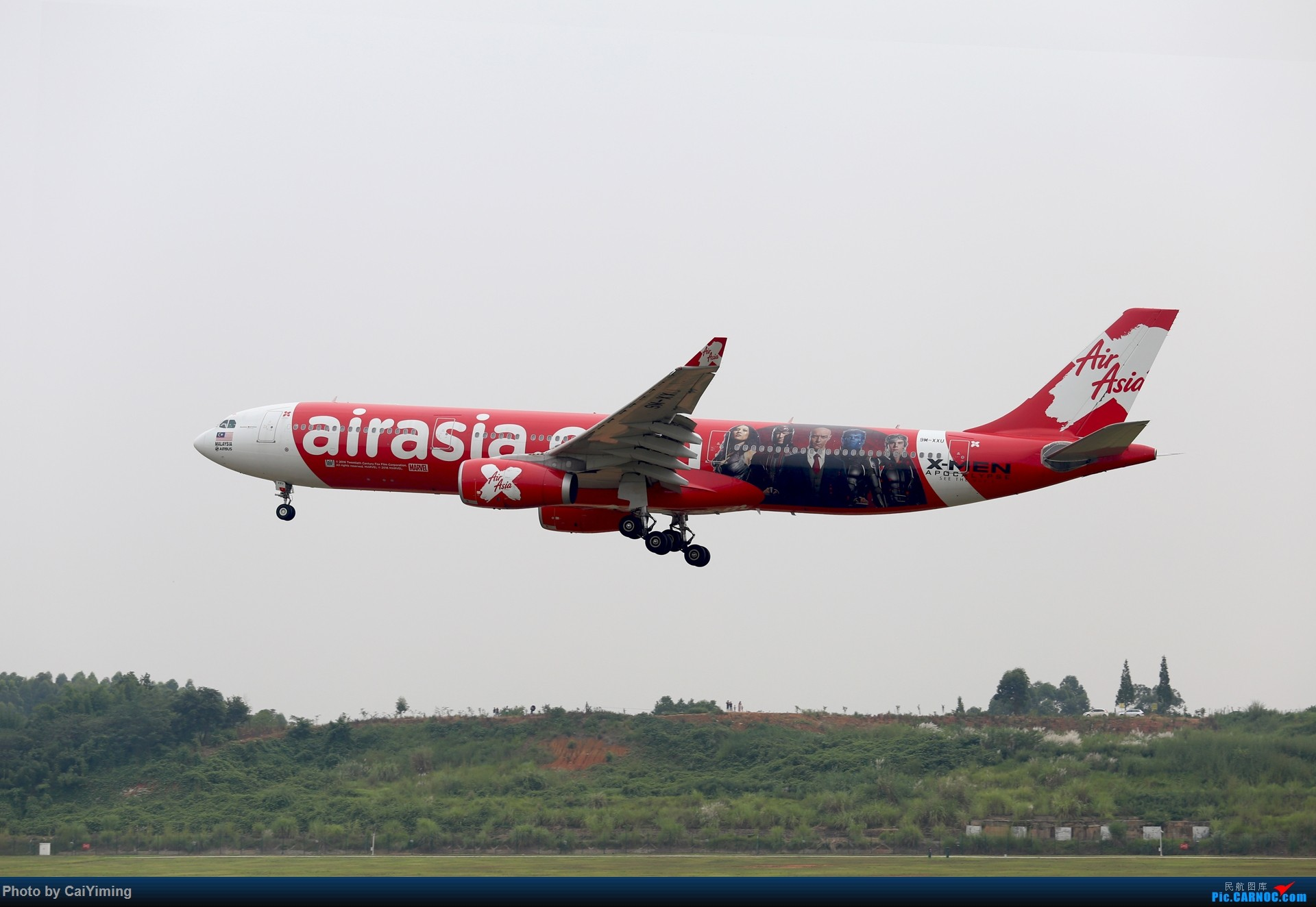 Re:[原创]成都双流水泥厂的日常 AIRBUS A330-300 9M-XXU 中国成都双流国际机场