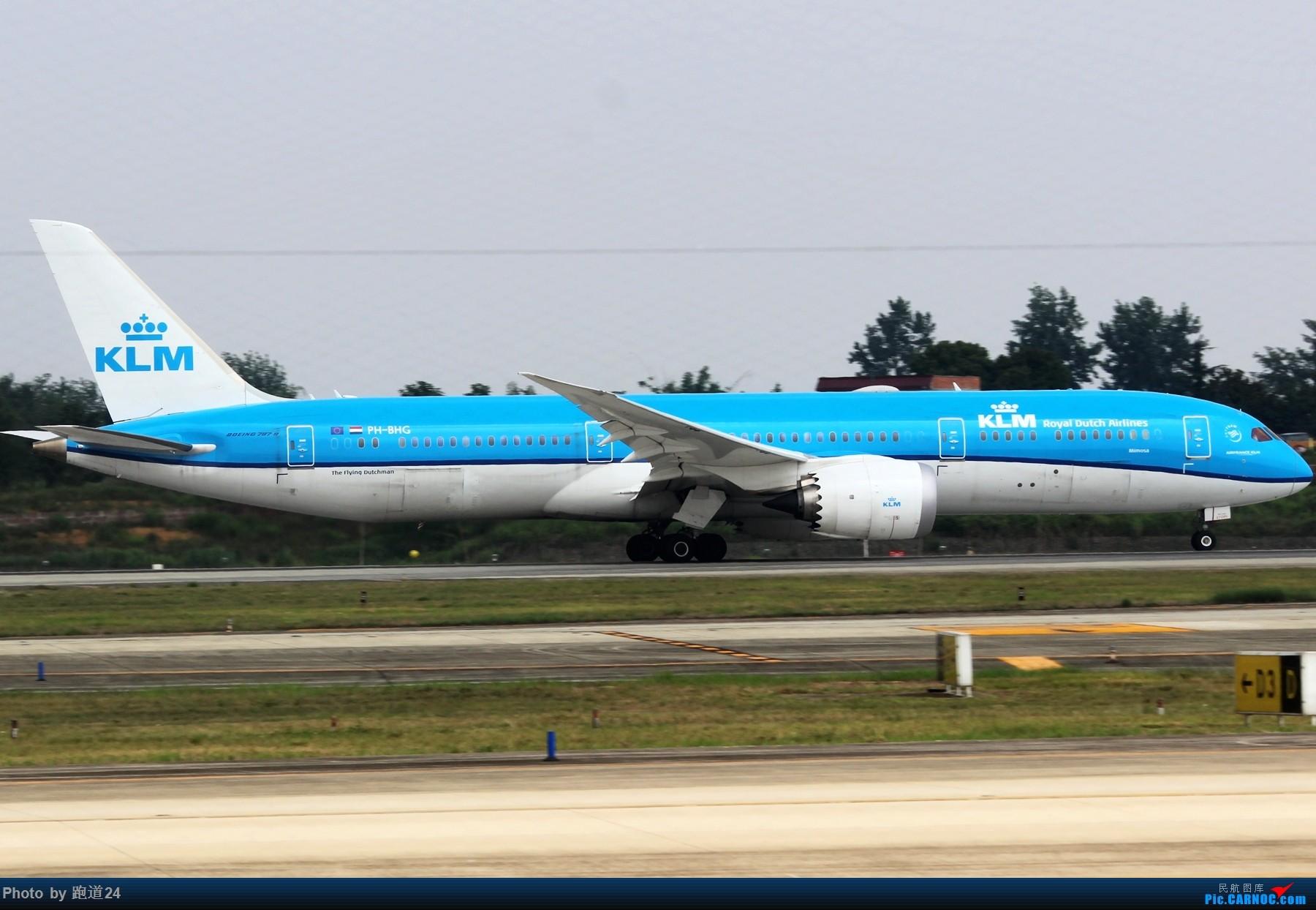 Re:[原创][多图党]不愧是成卢兹啊!! 1800*1200 BOEING 787-9 PH-BHG 中国成都双流国际机场