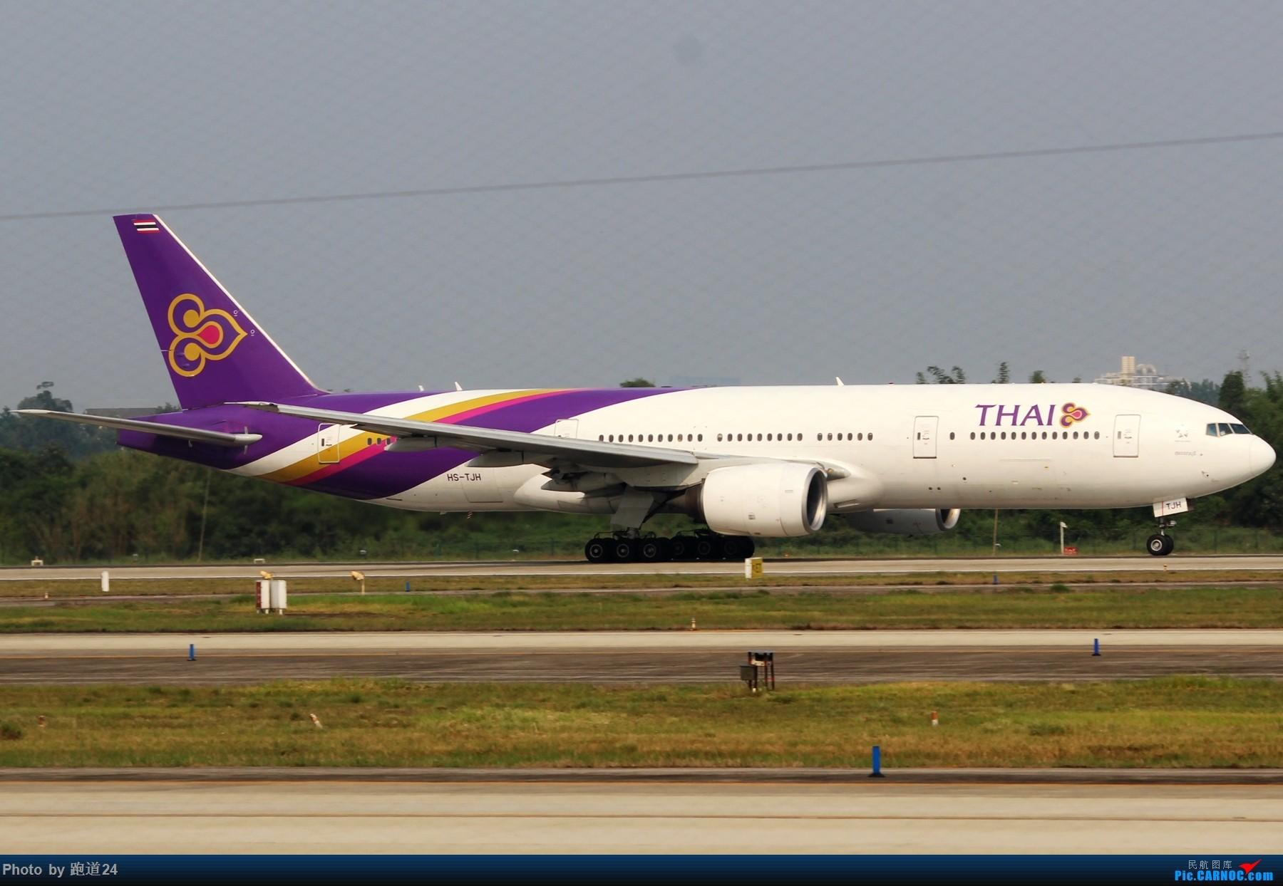 Re:[原创][多图党]不愧是成卢兹啊!! 1800*1200 BOEING 777-200ER HS-TJH 中国成都双流国际机场