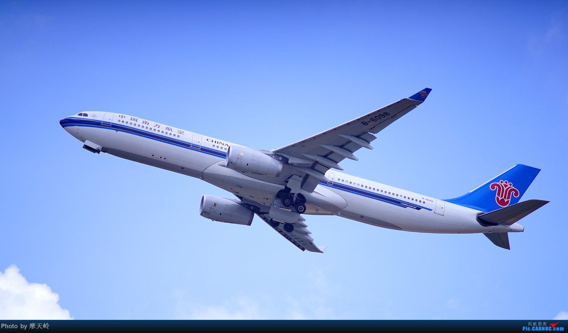 Re:[原创]kmg 东西跑道追拍飞机 AIRBUS A330-300 B-6098 中国昆明长水国际机场