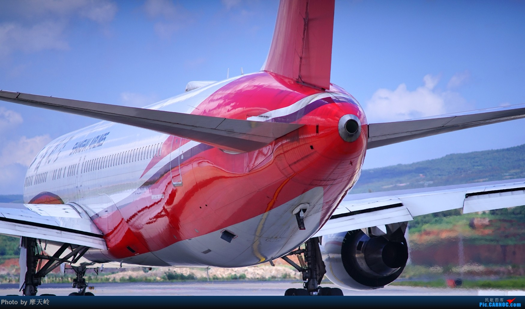 Re:[原创]kmg 东西跑道追拍飞机 BOEING 767-300 B-2570 中国昆明长水国际机场