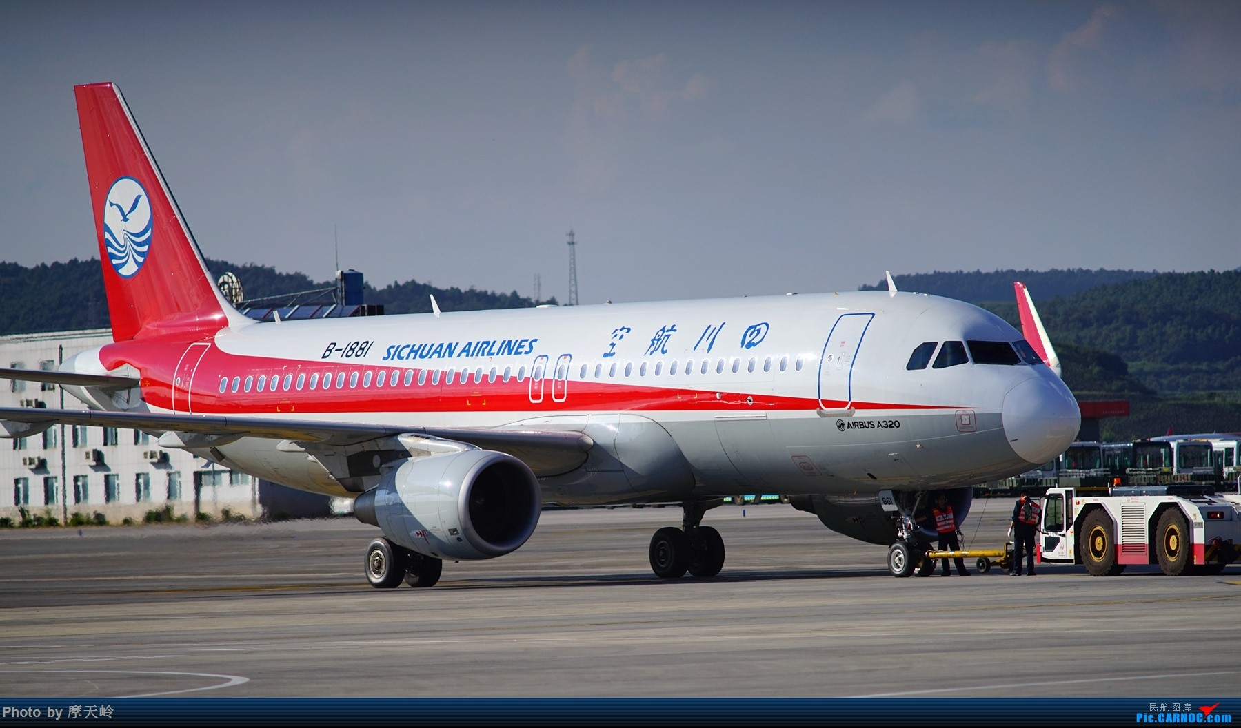 Re:[原创]kmg 东西跑道追拍飞机 AIRBUS A320-200 B-1881 中国昆明长水国际机场