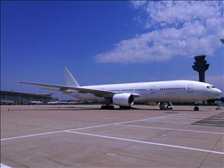 Re:一图,我们这里很少见大飞机。