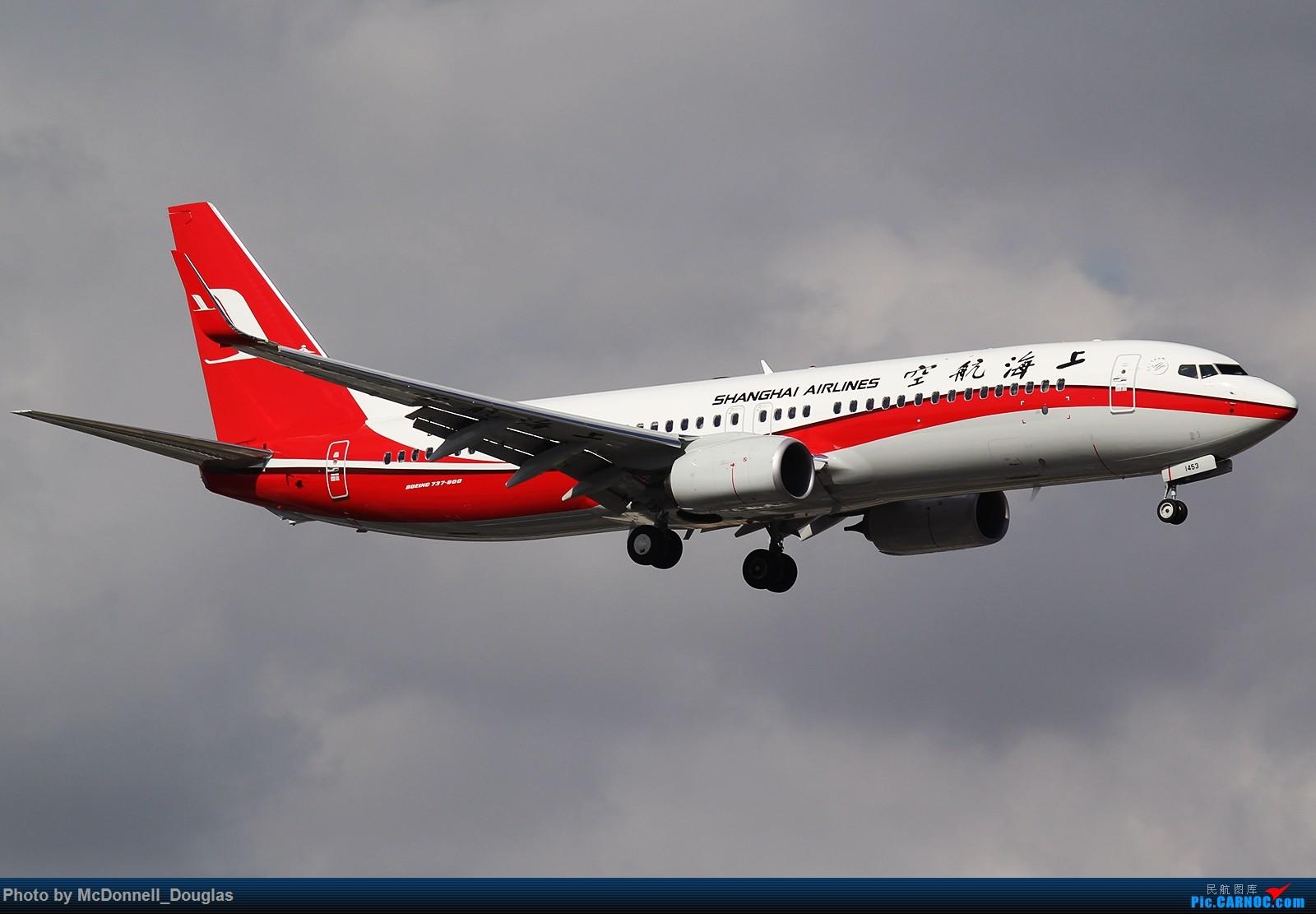 [原创]【上海飞友会】单发一张浓墨重彩的上航73L 1600x1067 BOEING 737-89P/WL B-1453 中国上海虹桥国际机场